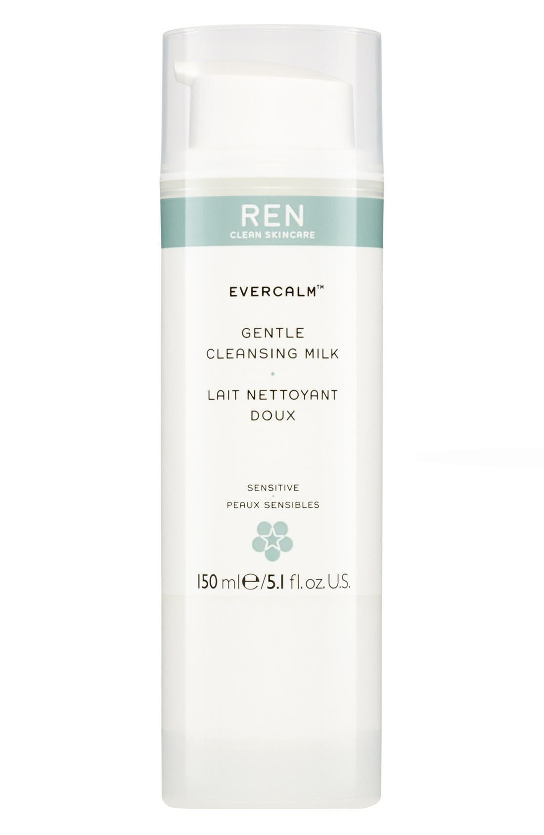 'Evercalm<sup>™</sup>' Gentle Cleansing Milk,                             Main thumbnail 1, color,                             000