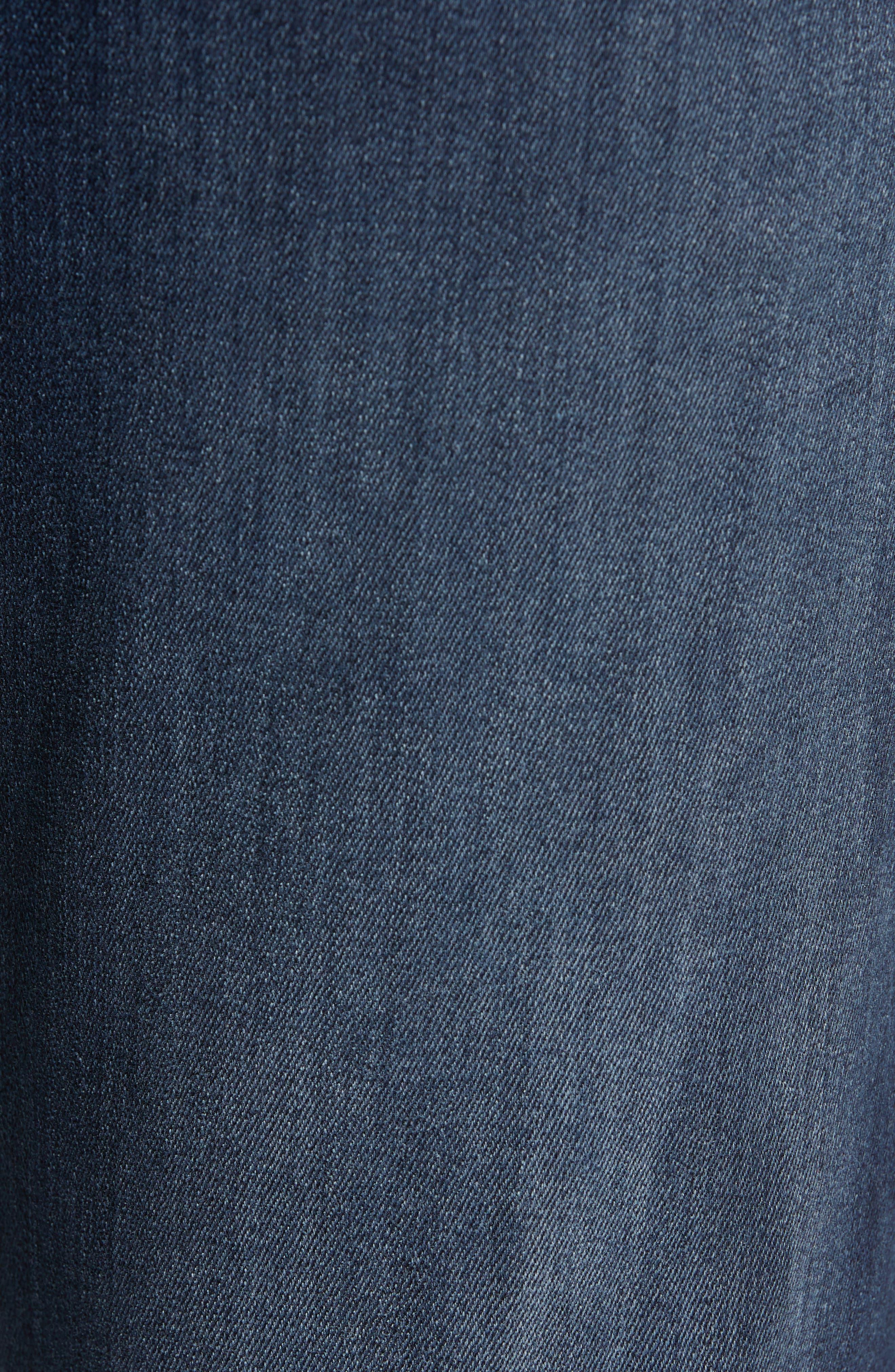 Fidelity Slim Straight Leg Jeans,                             Alternate thumbnail 5, color,                             BEL AIR BLUE
