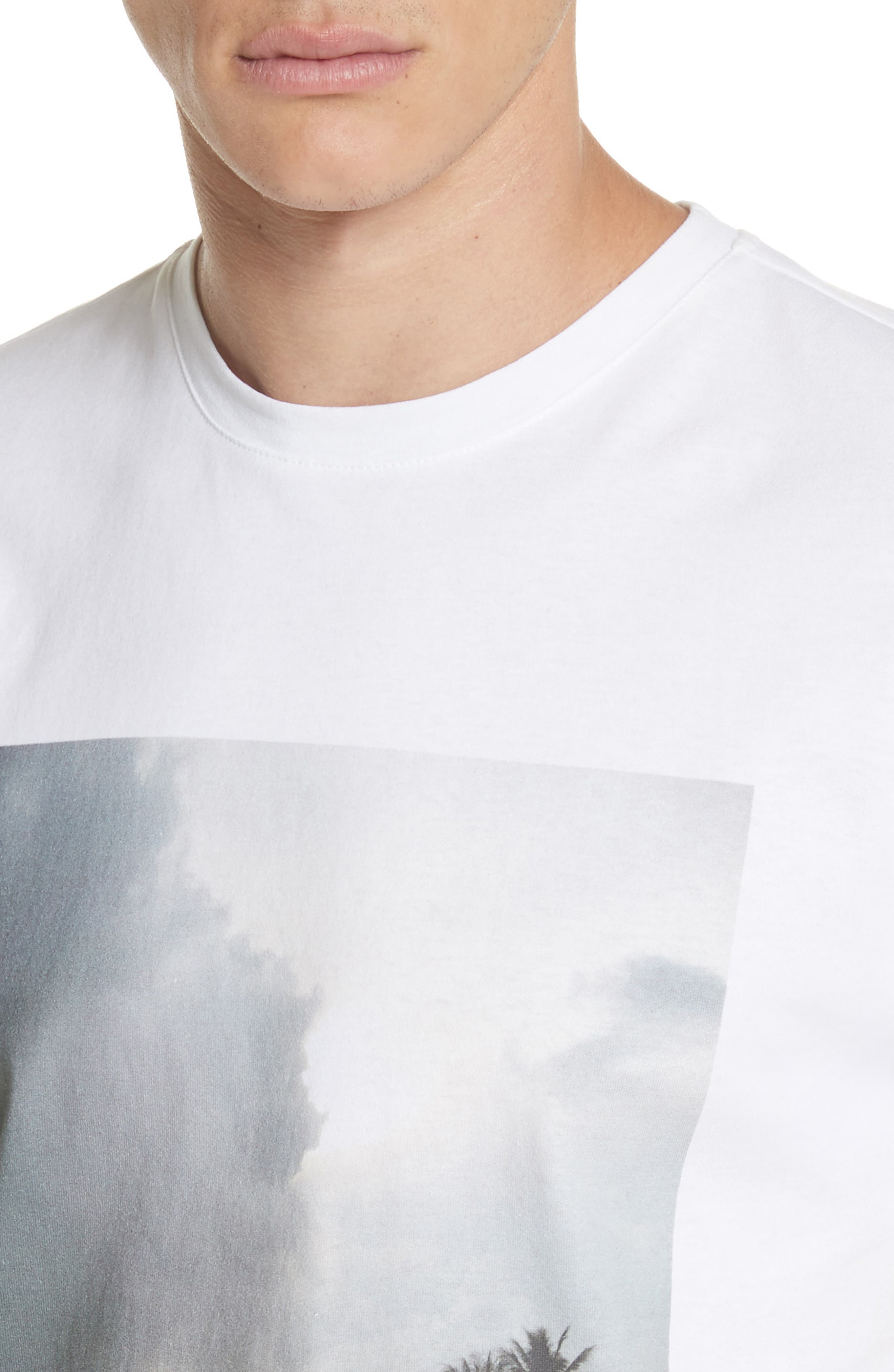 Tropicool Graphic T-Shirt,                             Alternate thumbnail 4, color,                             100