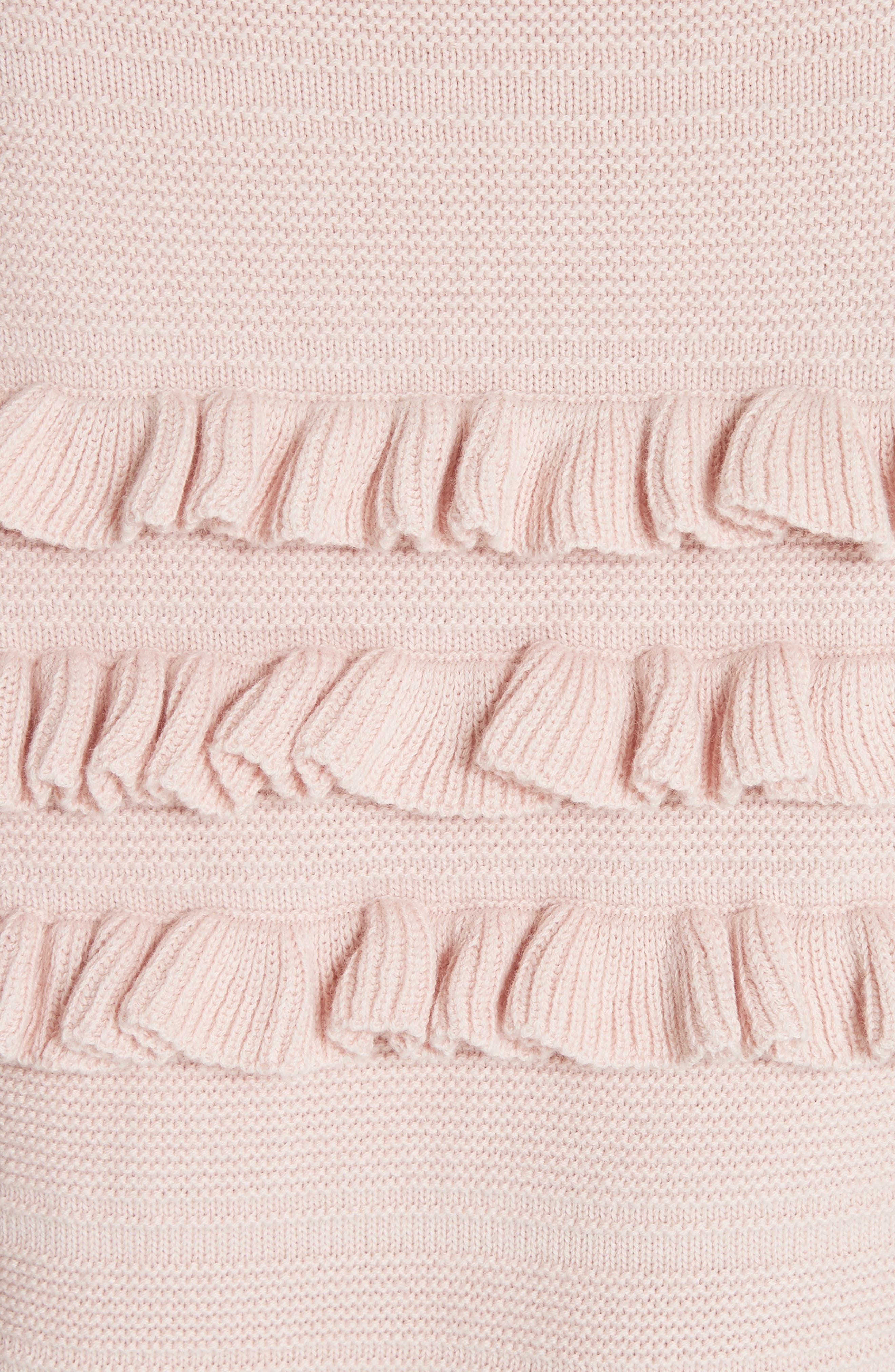 ruffled cotton & cashmere sweater,                             Alternate thumbnail 10, color,