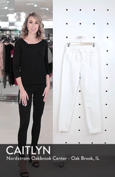The Lace-Up Dazzler Ankle Chew High Waist Jeans, sales video thumbnail