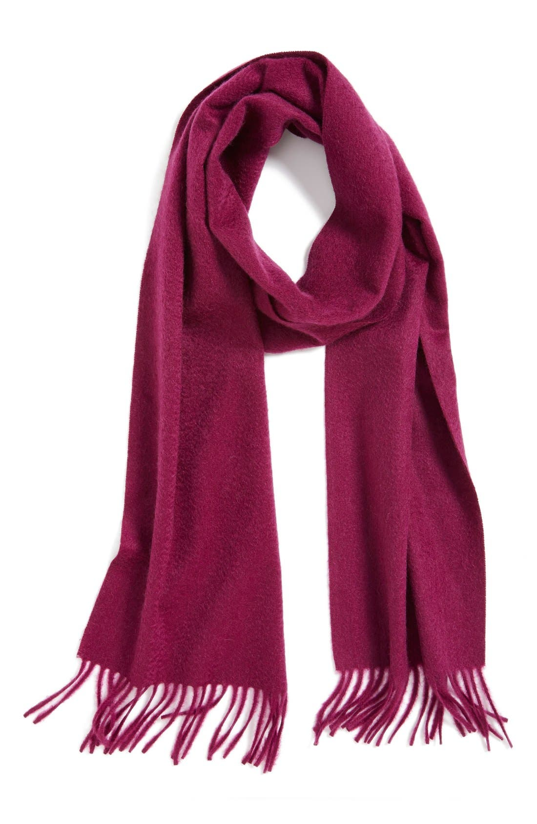 Solid Woven Cashmere Scarf,                             Main thumbnail 12, color,