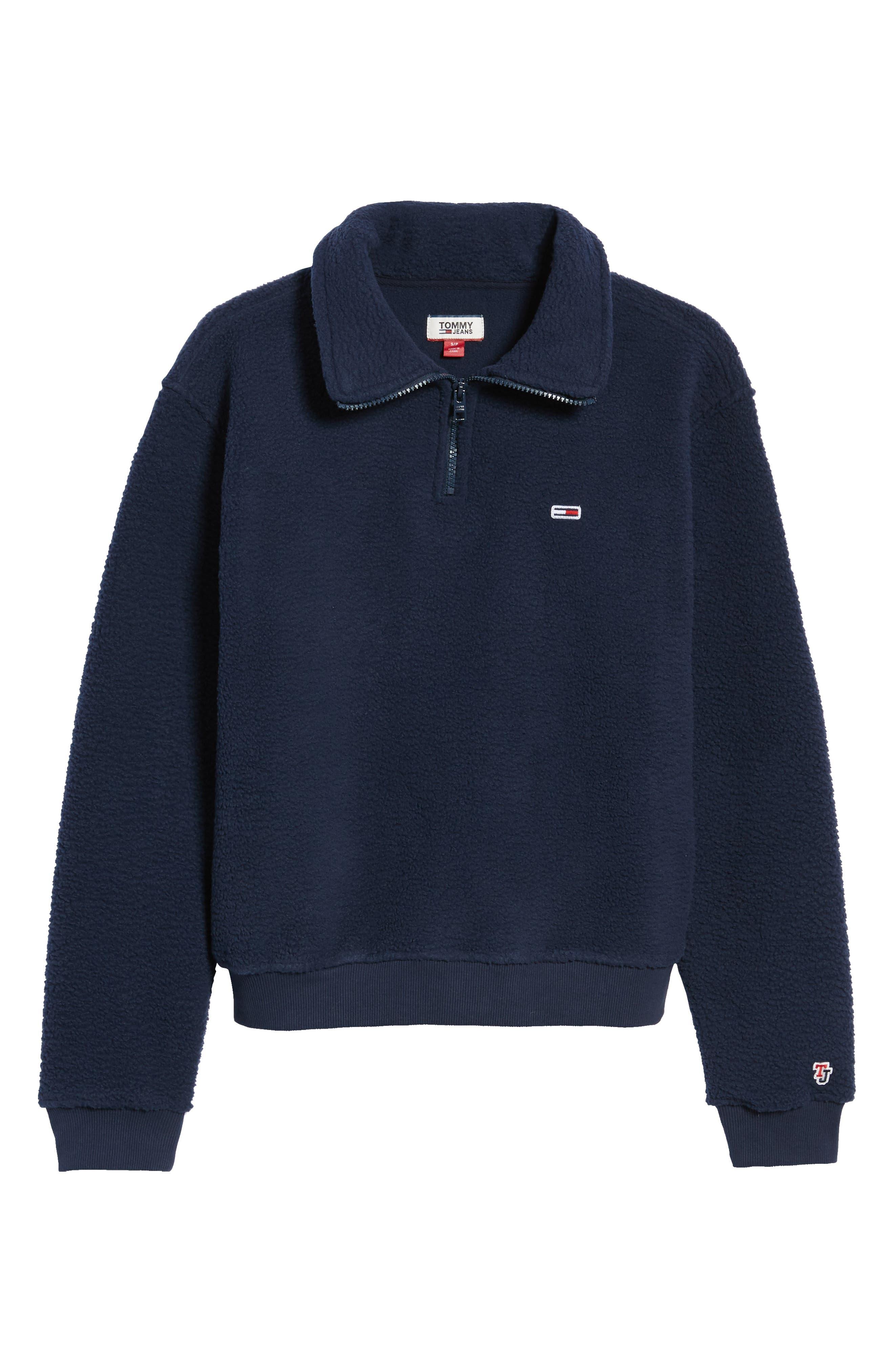 TJW Classics Polar Fleece Sweatshirt,                             Alternate thumbnail 6, color,                             002