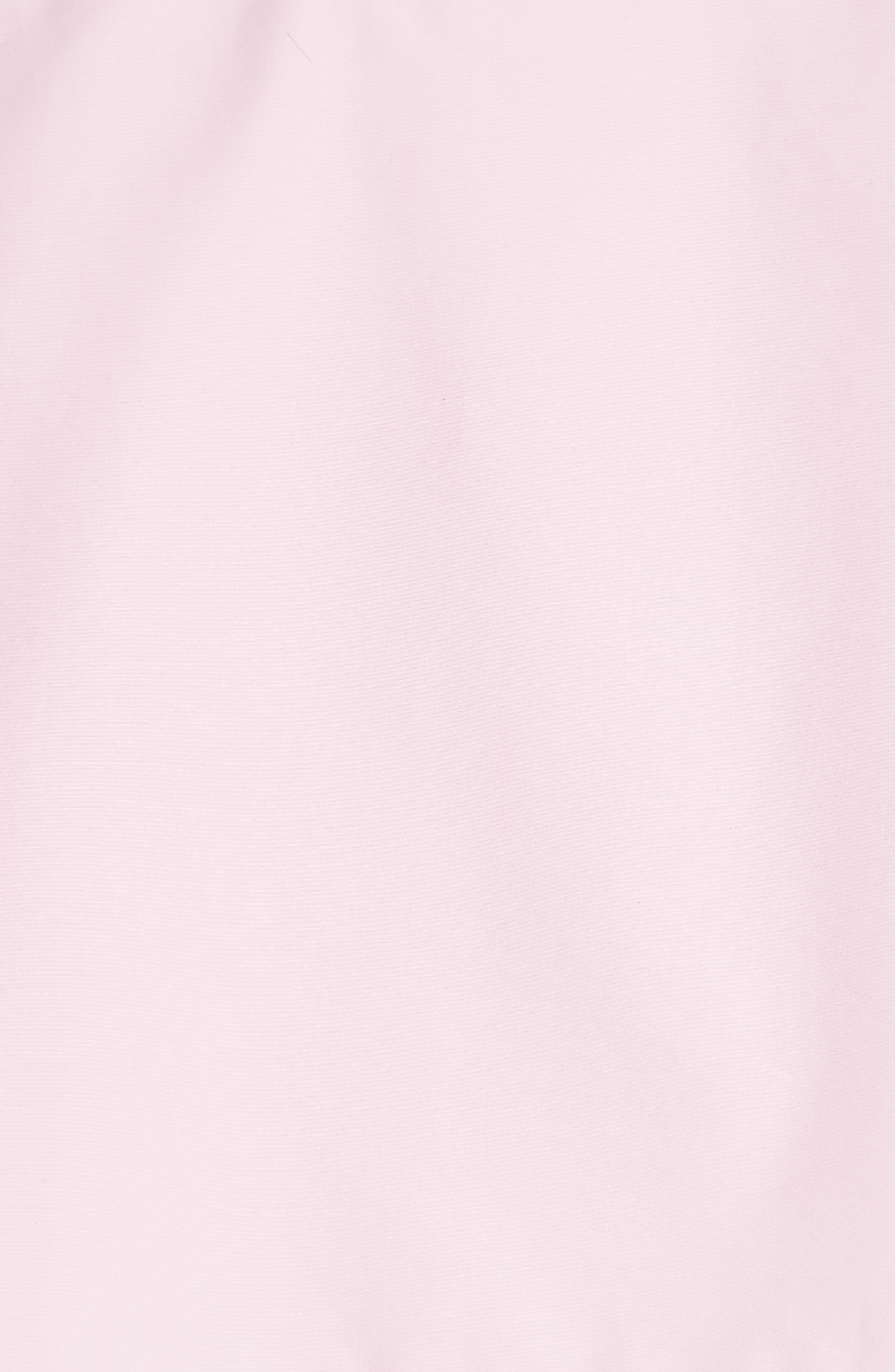 Layered Cotton Poplin Shirt,                             Alternate thumbnail 7, color,                             ROSE OPTIC WHITE