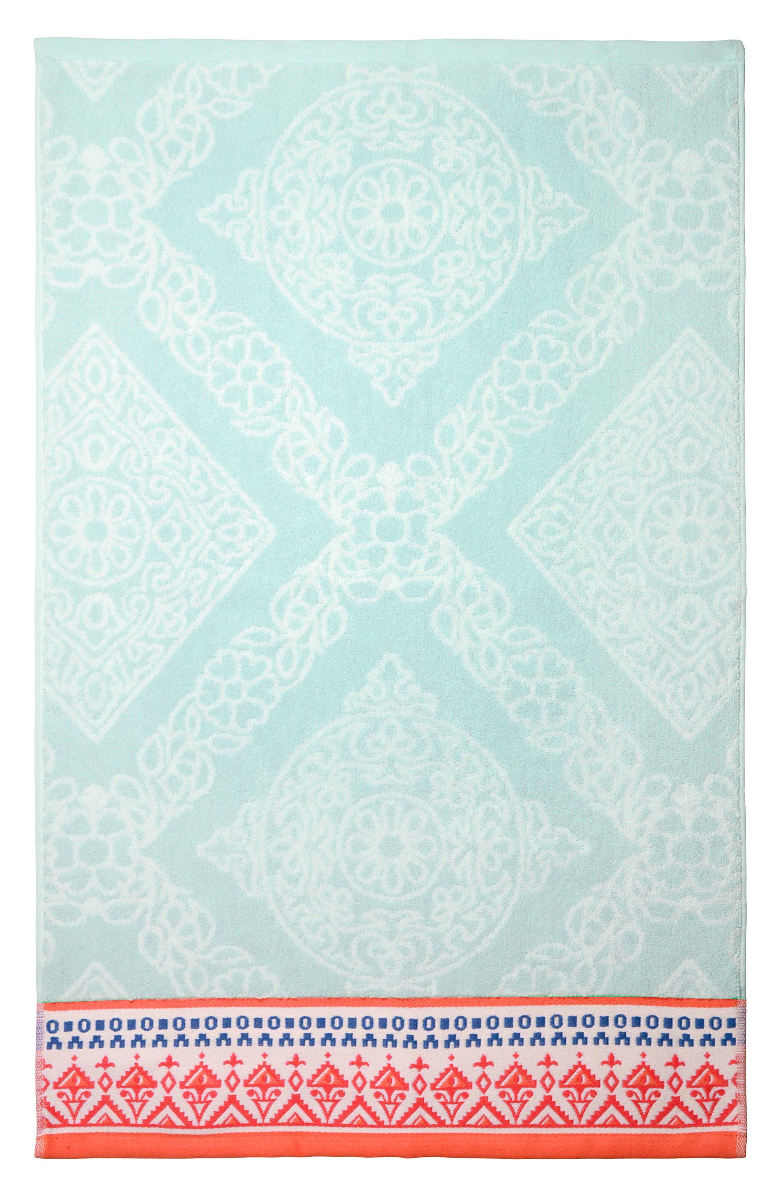 Mitta Hand Towel,                             Main thumbnail 1, color,                             440