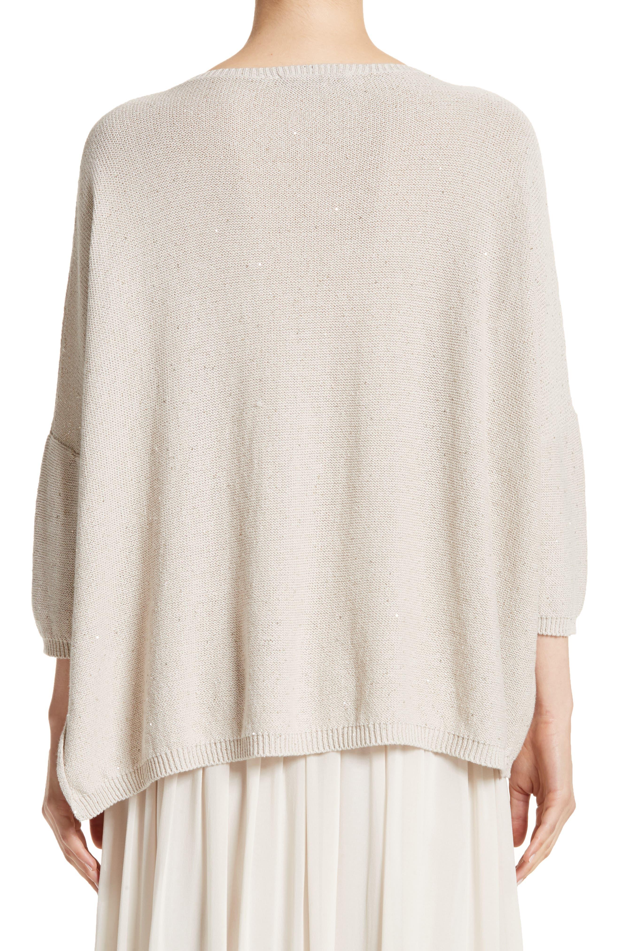 Sequin Knit Dolman Sweater,                             Alternate thumbnail 2, color,
