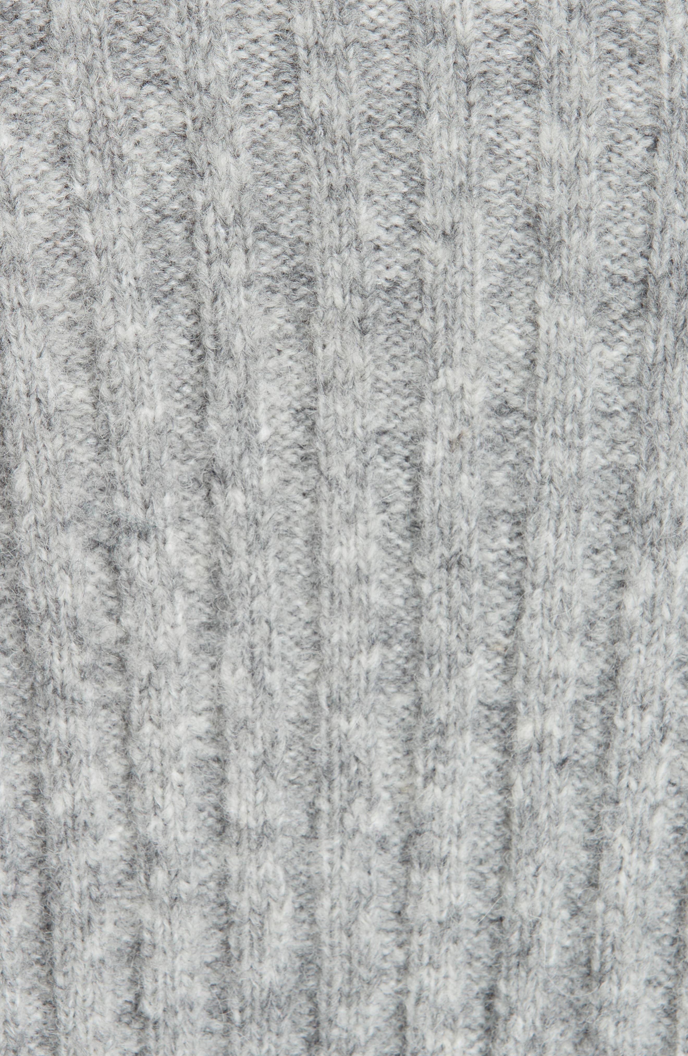 REBECCA TAYLOR,                             Lofty Alpaca Wool Blend Sweater,                             Alternate thumbnail 5, color,                             052
