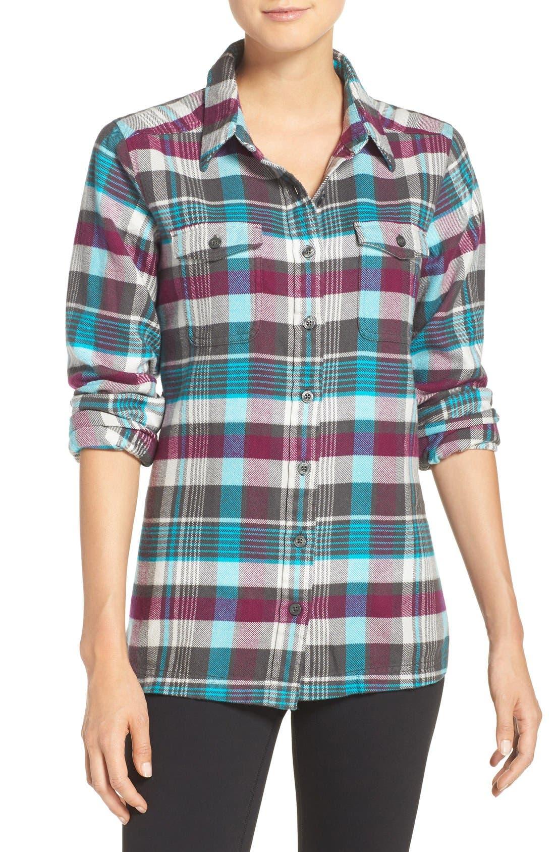 'Fjord' Flannel Shirt,                             Main thumbnail 15, color,