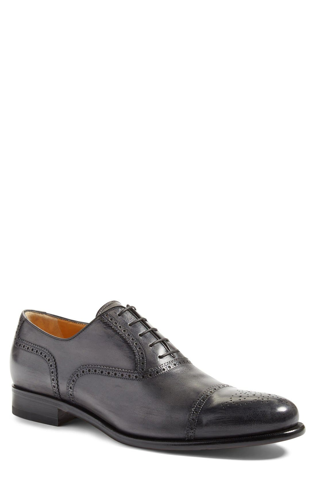 Medallion Toe Oxford,                         Main,                         color,