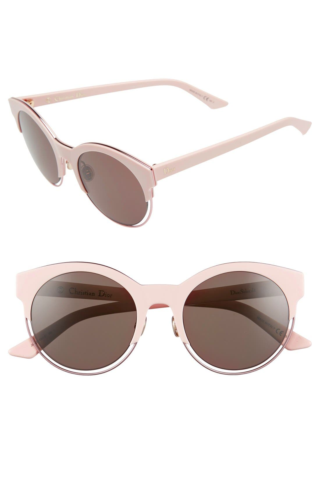 Siderall 1 53mm Round Sunglasses,                             Main thumbnail 9, color,