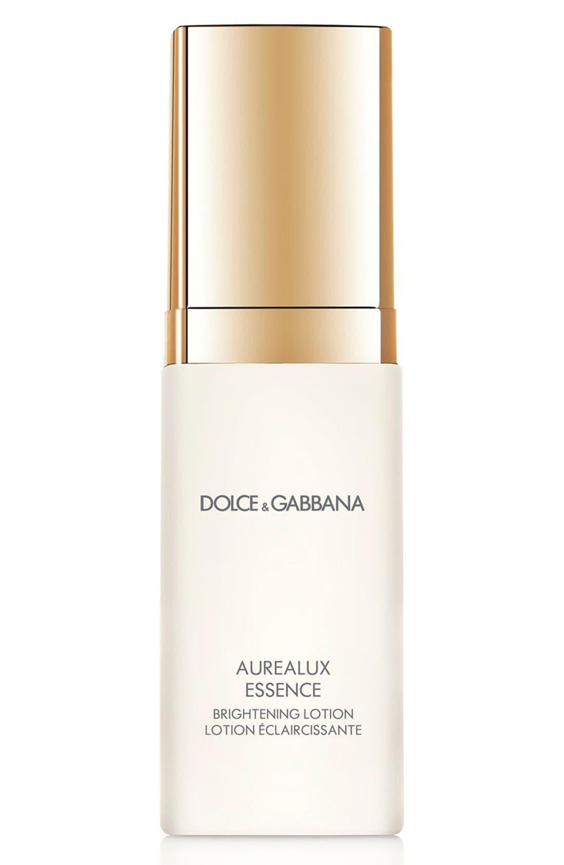 Dolce&GabbanaBeauty 'Aurealux' Essence Brightening Lotion,                             Main thumbnail 1, color,                             000