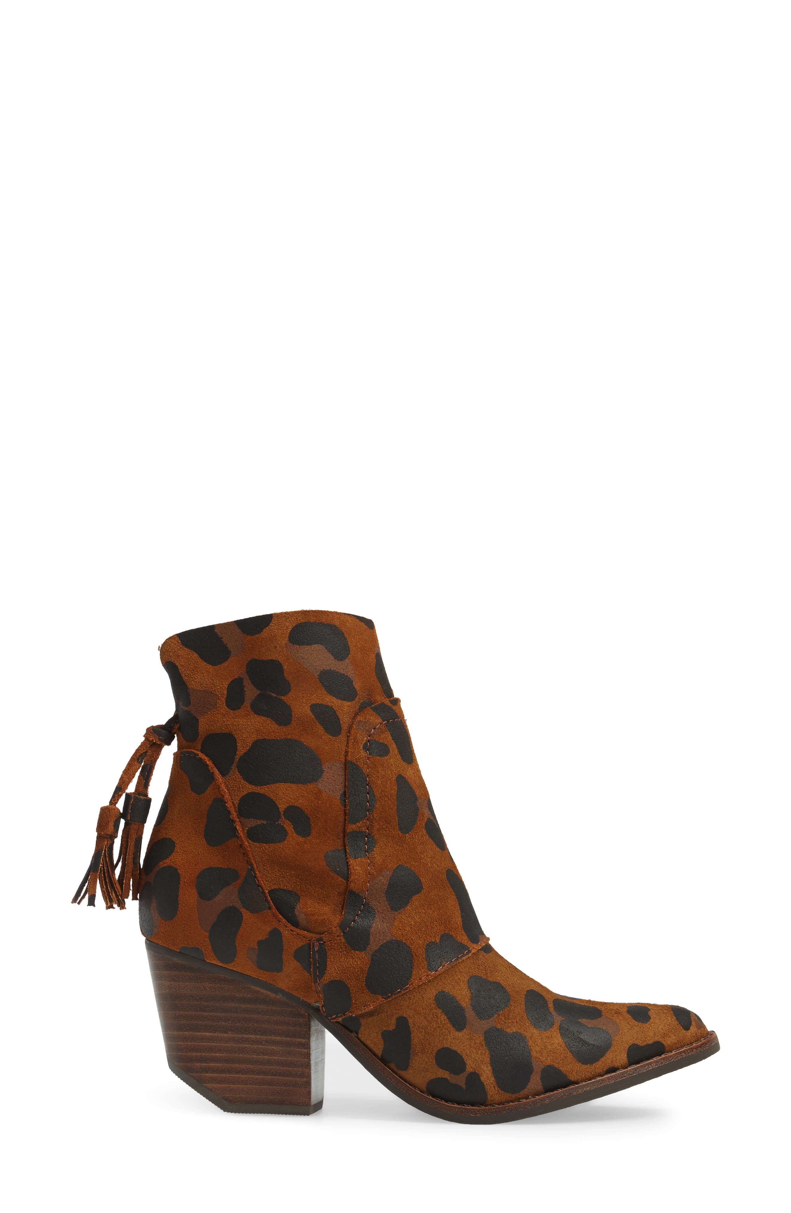 Laney Notched Heel Bootie,                             Alternate thumbnail 10, color,