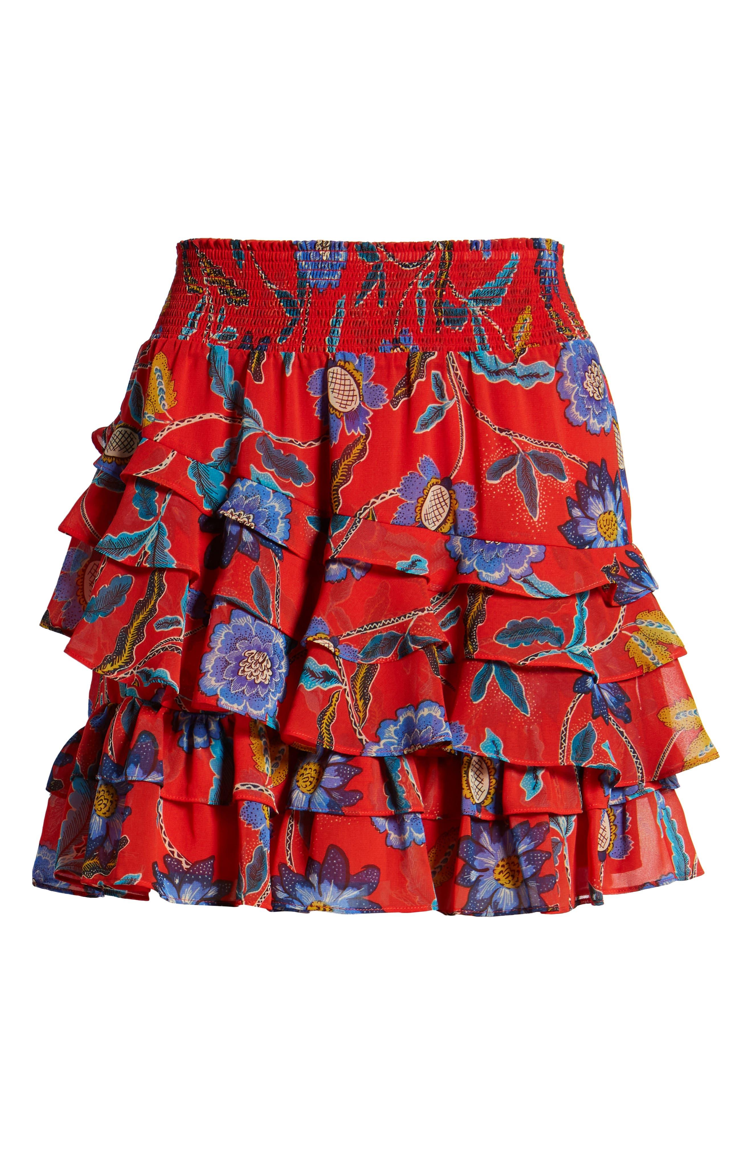 Lila Skirt,                             Alternate thumbnail 6, color,                             607