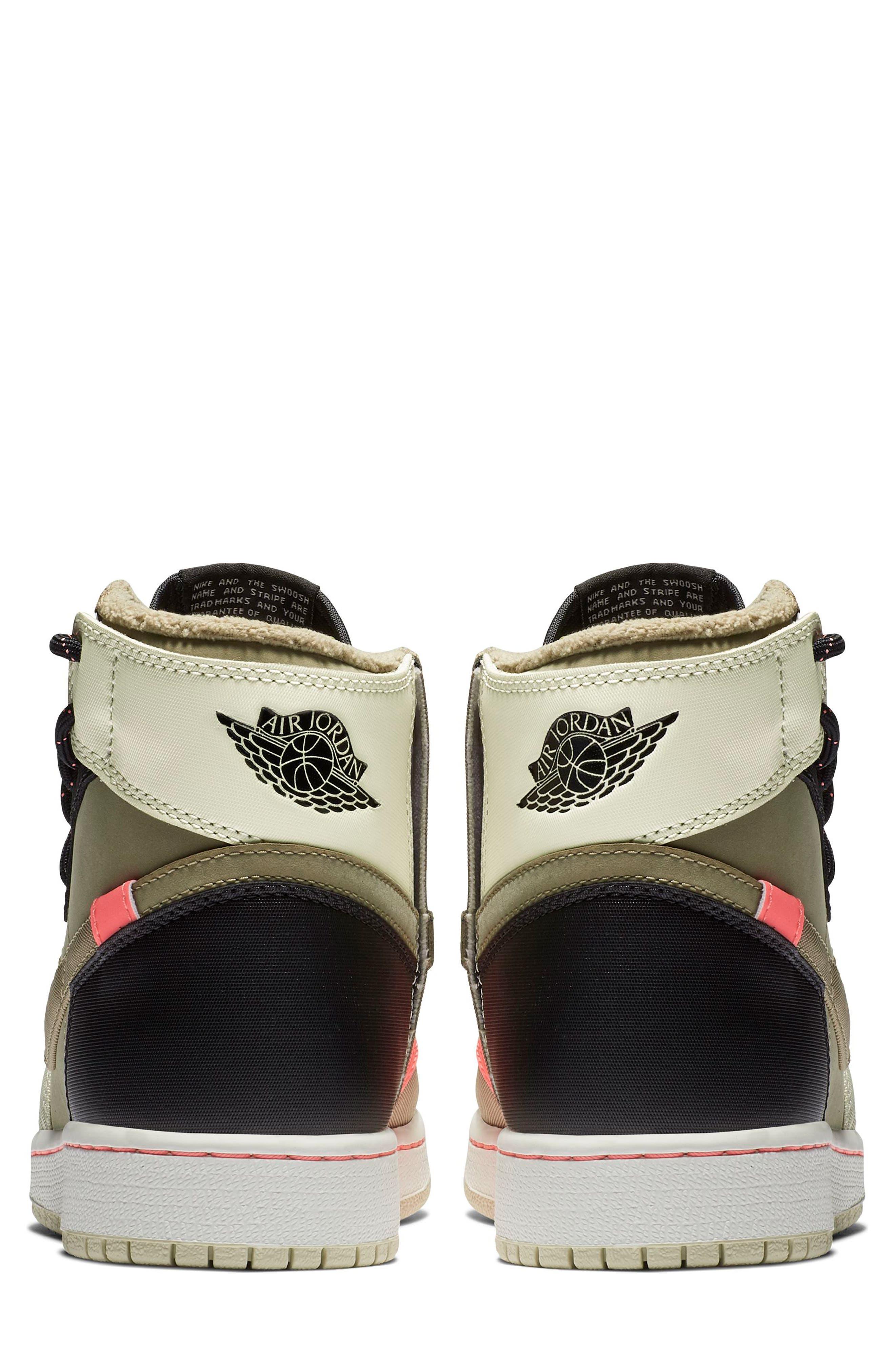 Air Jordan 1 Rebel XX Utility High Top Sneaker,                             Alternate thumbnail 2, color,                             PARACHUTE BEIGE