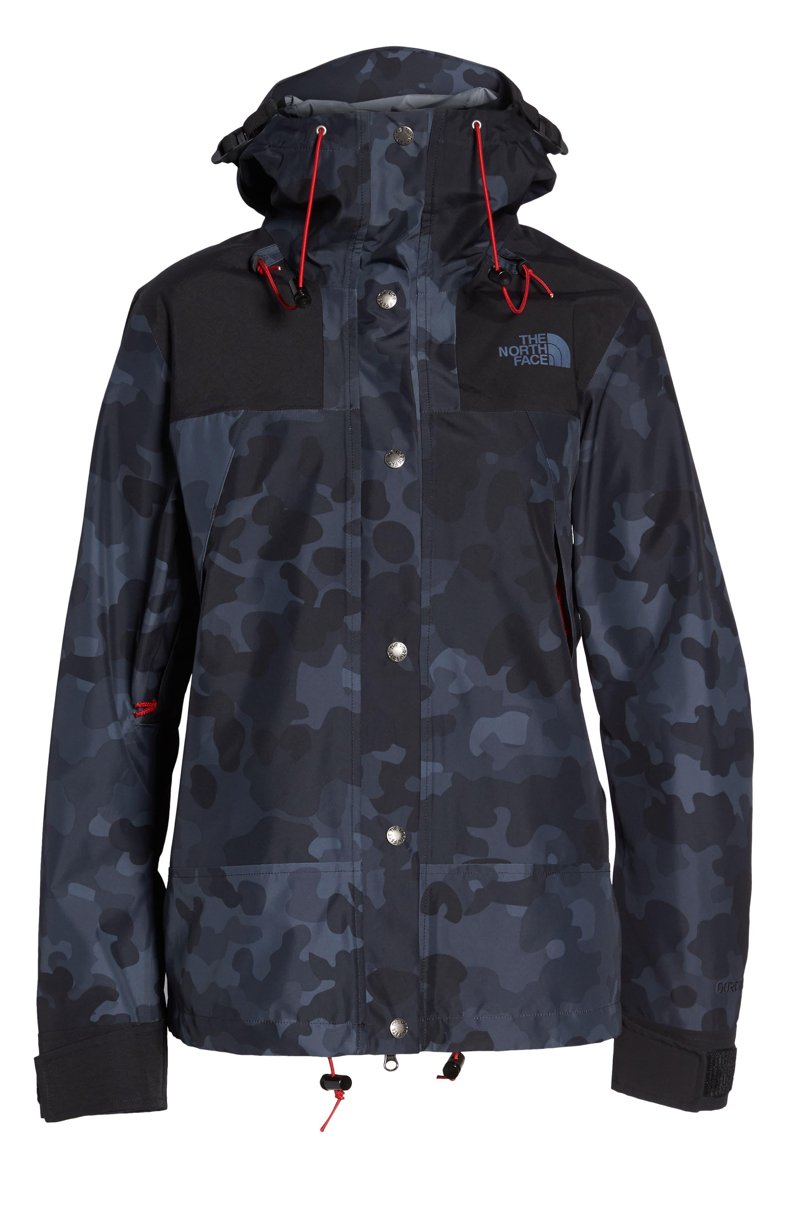 1990 Mountain Gore-Tex<sup>®</sup> Waterproof Jacket,                             Alternate thumbnail 6, color,                             TNF BLACK MACROFLECK PRINT
