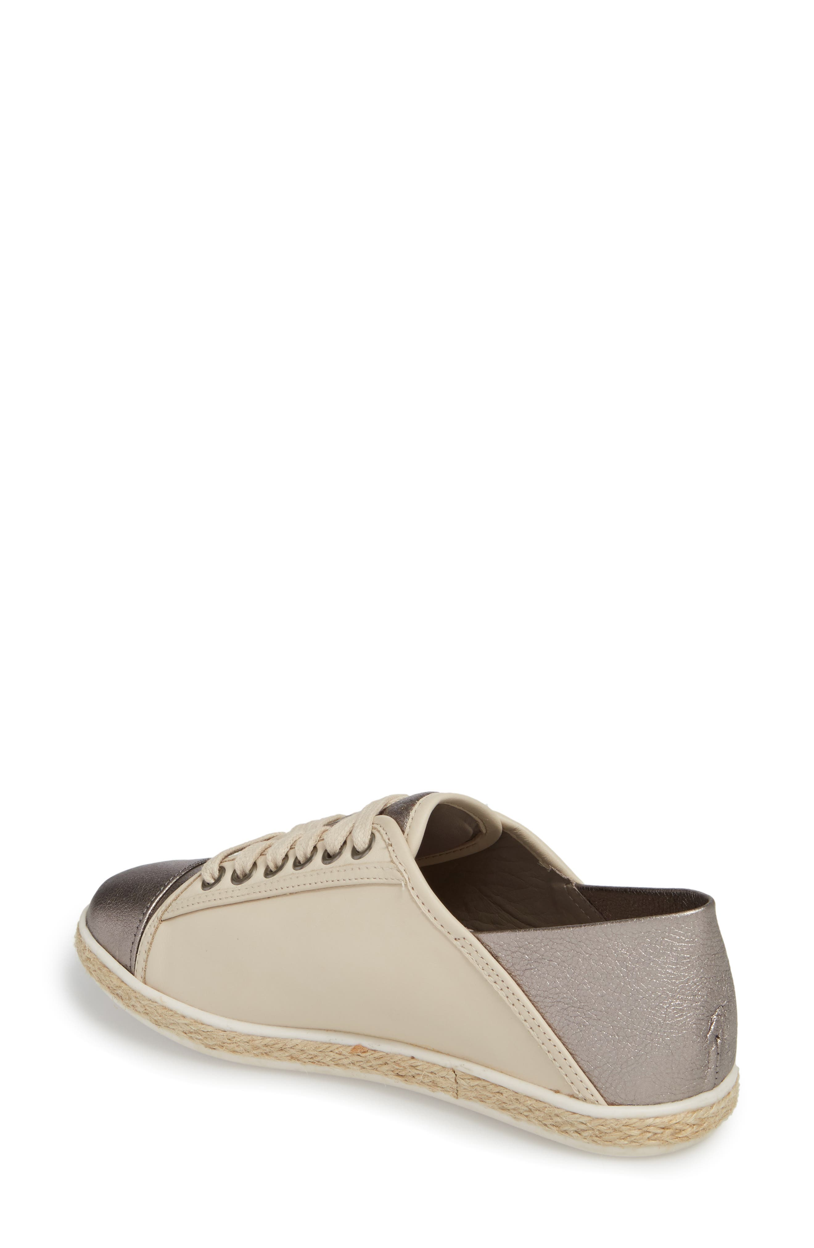 Buddy Convertible Heel Sneaker,                             Alternate thumbnail 2, color,                             GUNMETAL LEATHER