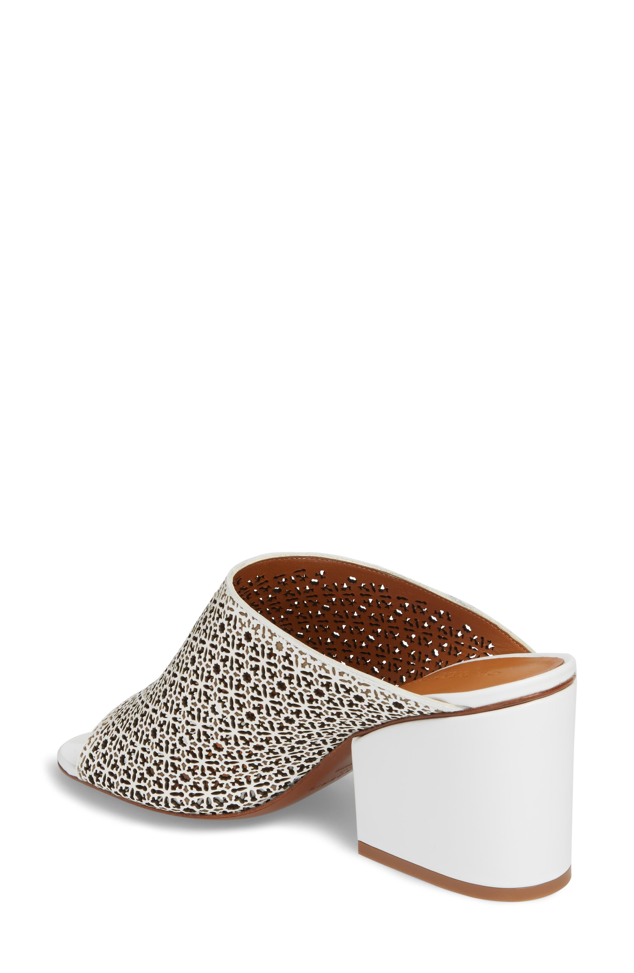 Cara Perforated Sandal,                             Alternate thumbnail 2, color,                             109