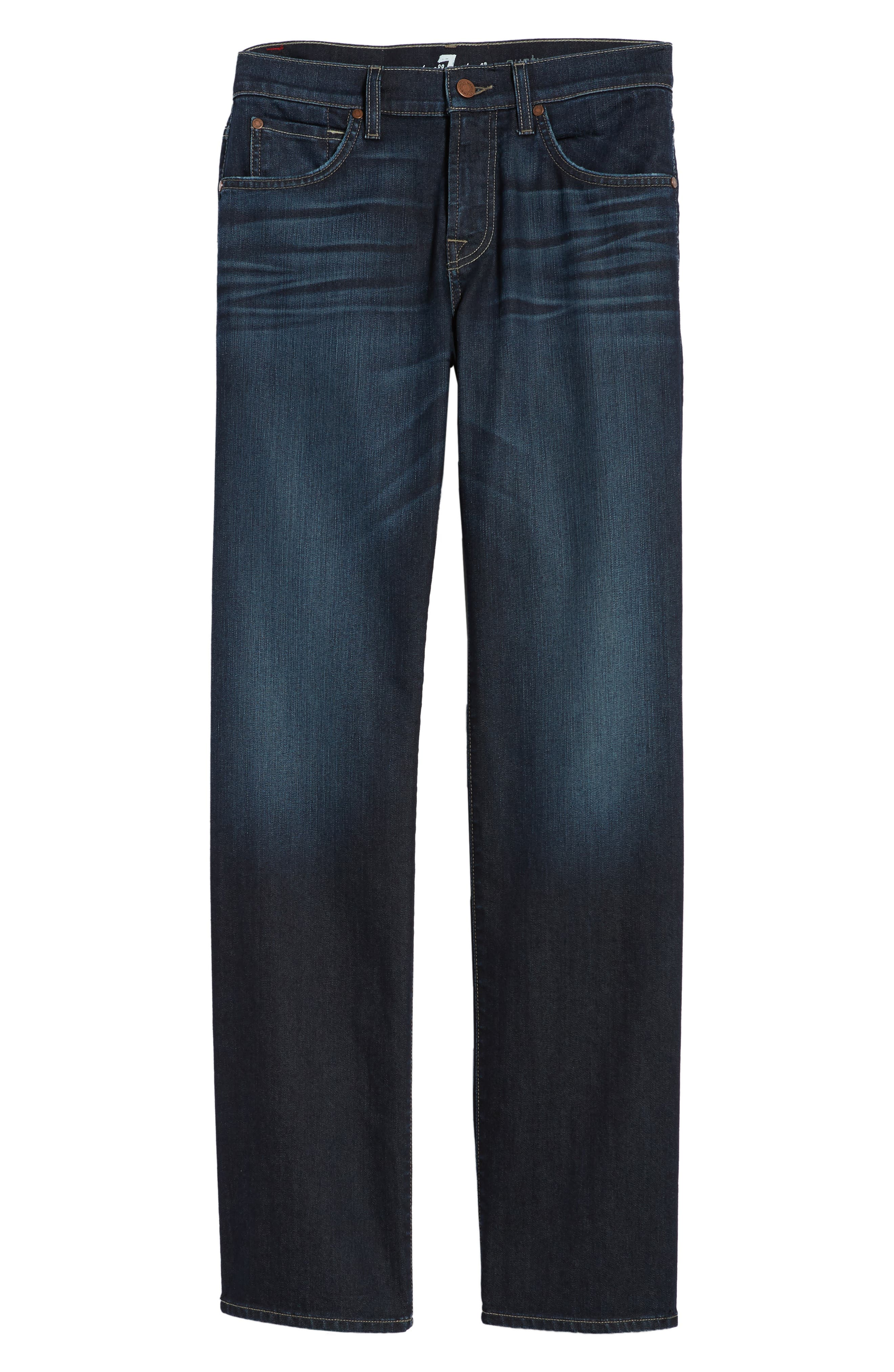 Airweft Austyn Relaxed Straight Leg Jeans,                             Alternate thumbnail 6, color,                             406