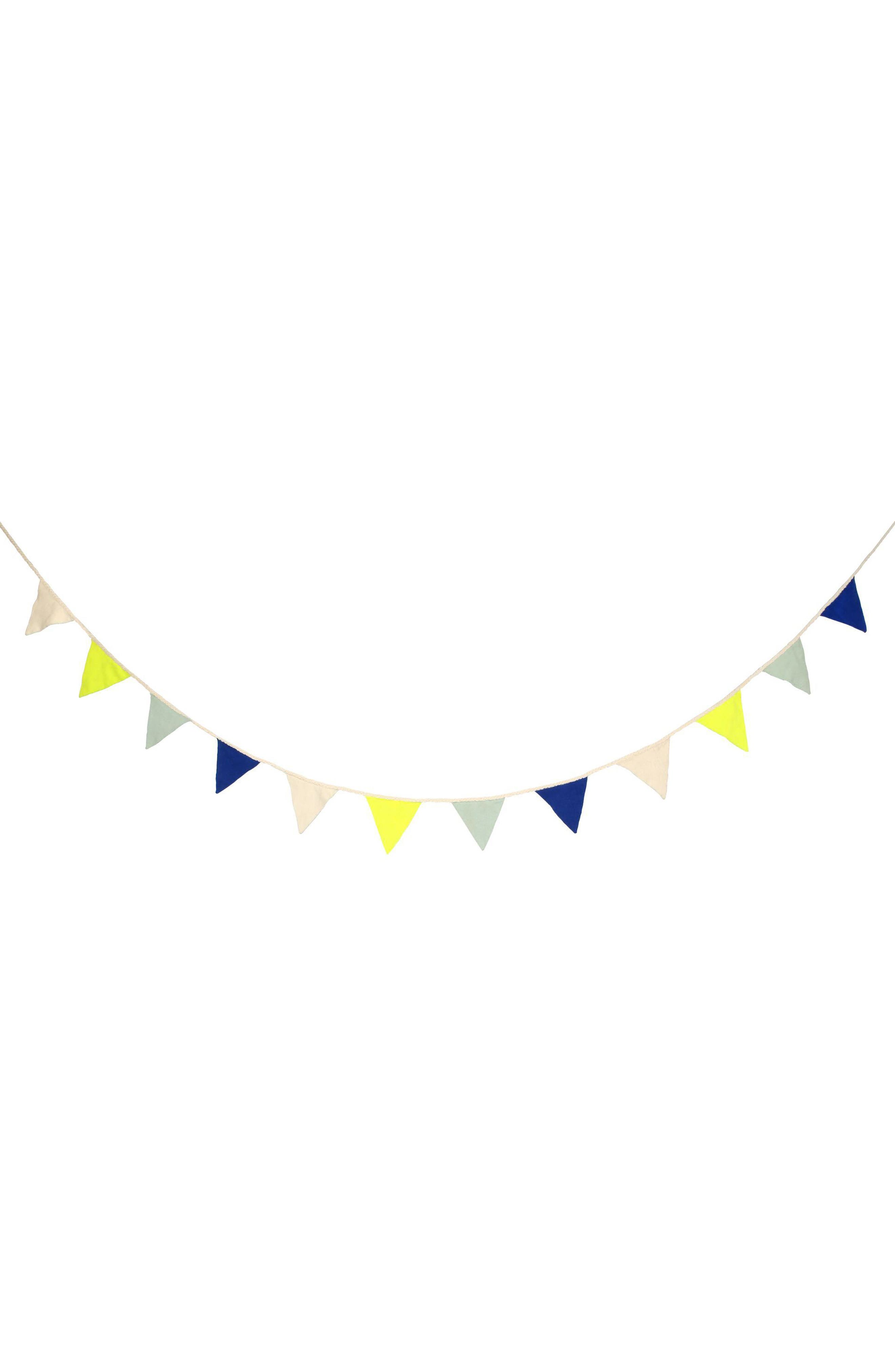 Organic Cotton Flag Garland,                             Main thumbnail 1, color,                             400
