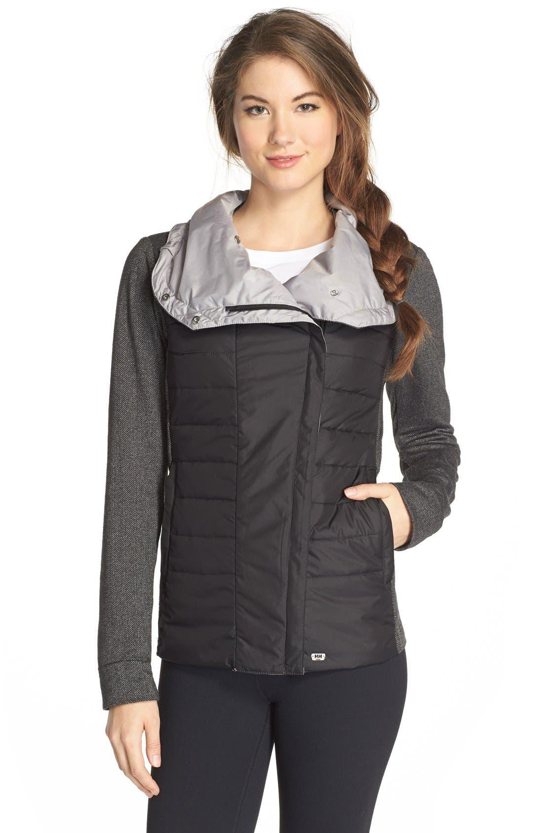 HellyHansen 'Astra' Jacket,                             Main thumbnail 1, color,                             BLACK