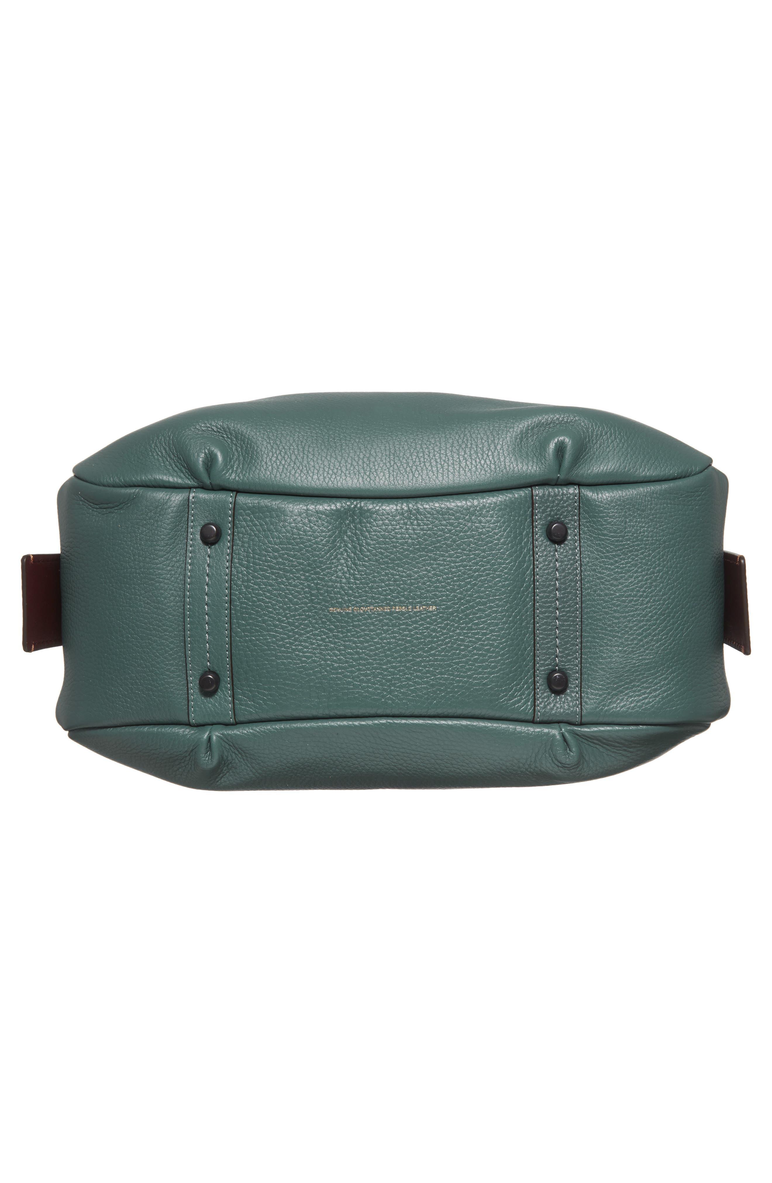 Bandit Leather Hobo & Removable Shoulder Bag,                             Alternate thumbnail 6, color,                             313