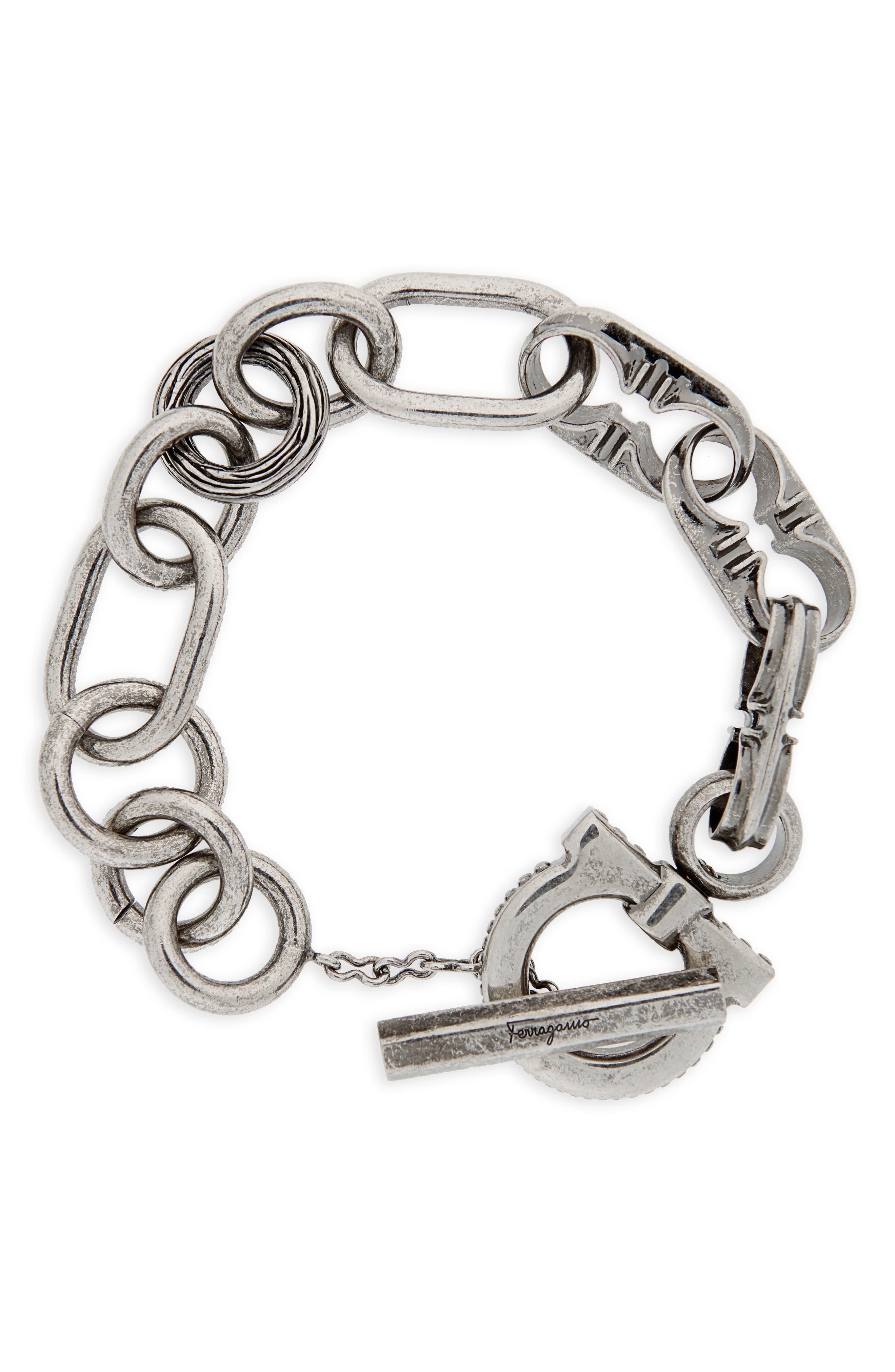 Double Gancio Bracelet,                         Main,                         color,