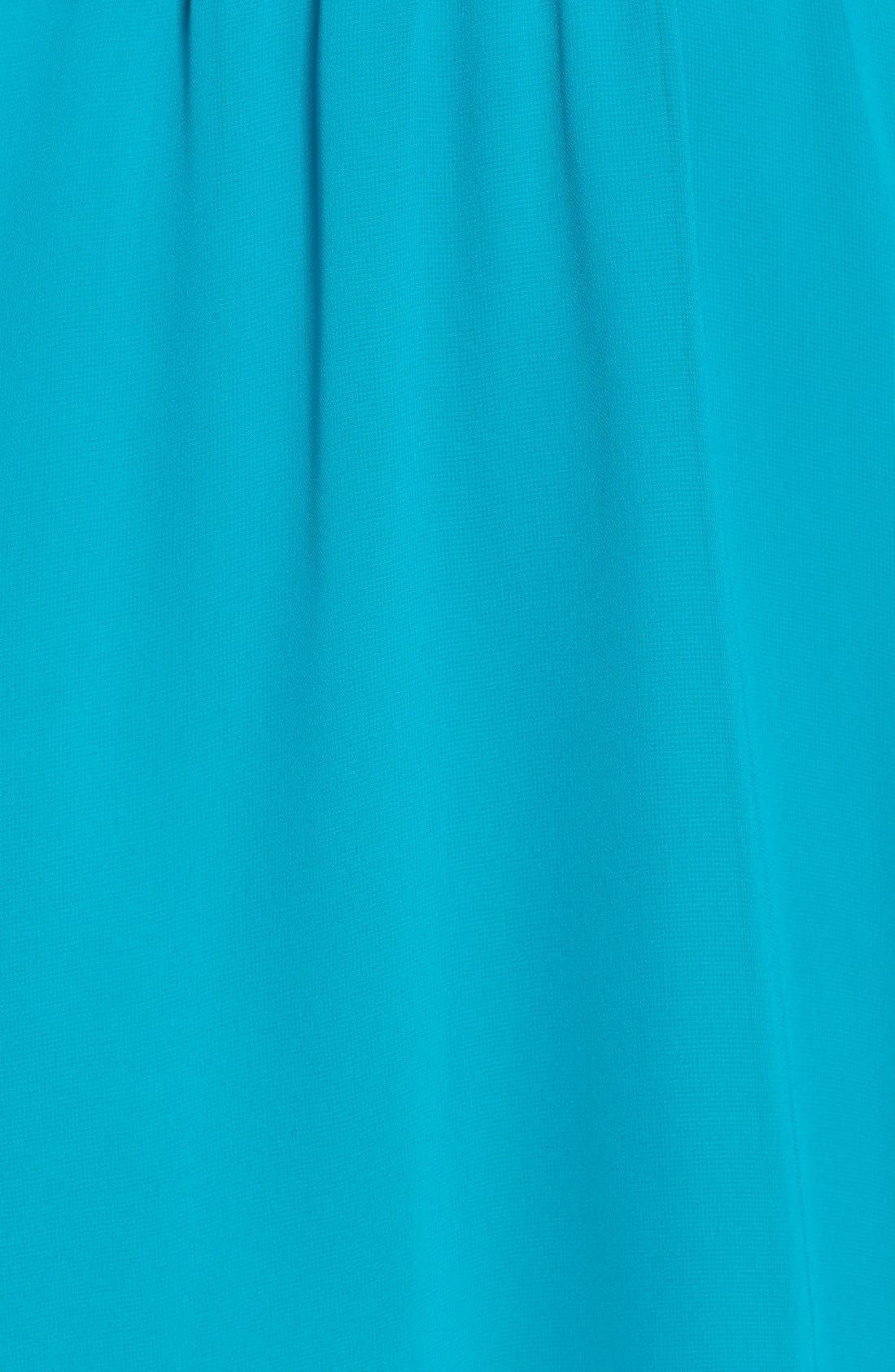 Blouson Chiffon Skater Dress,                             Alternate thumbnail 216, color,