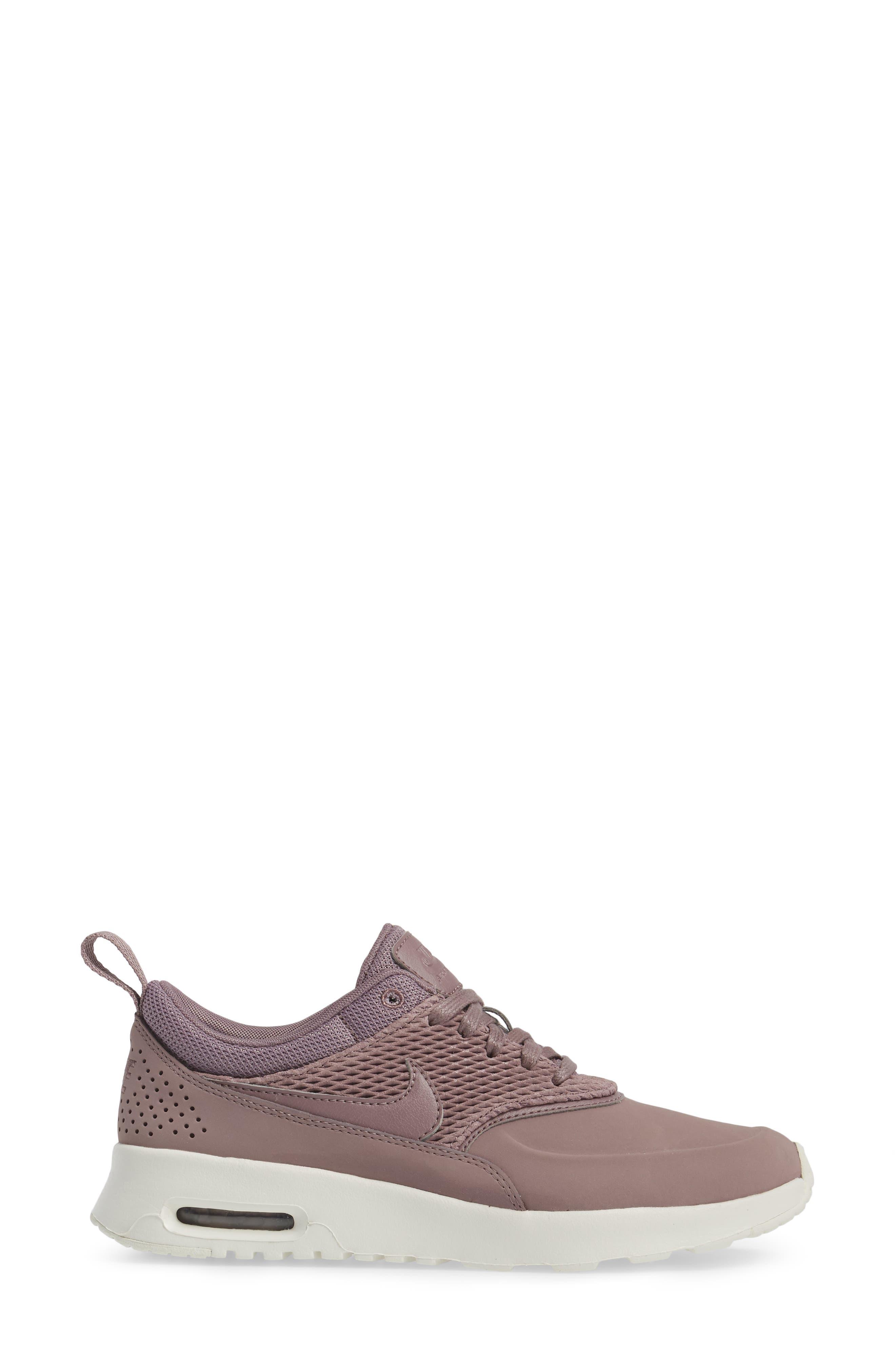 Air Max Thea Premium Sneaker,                             Alternate thumbnail 3, color,                             025
