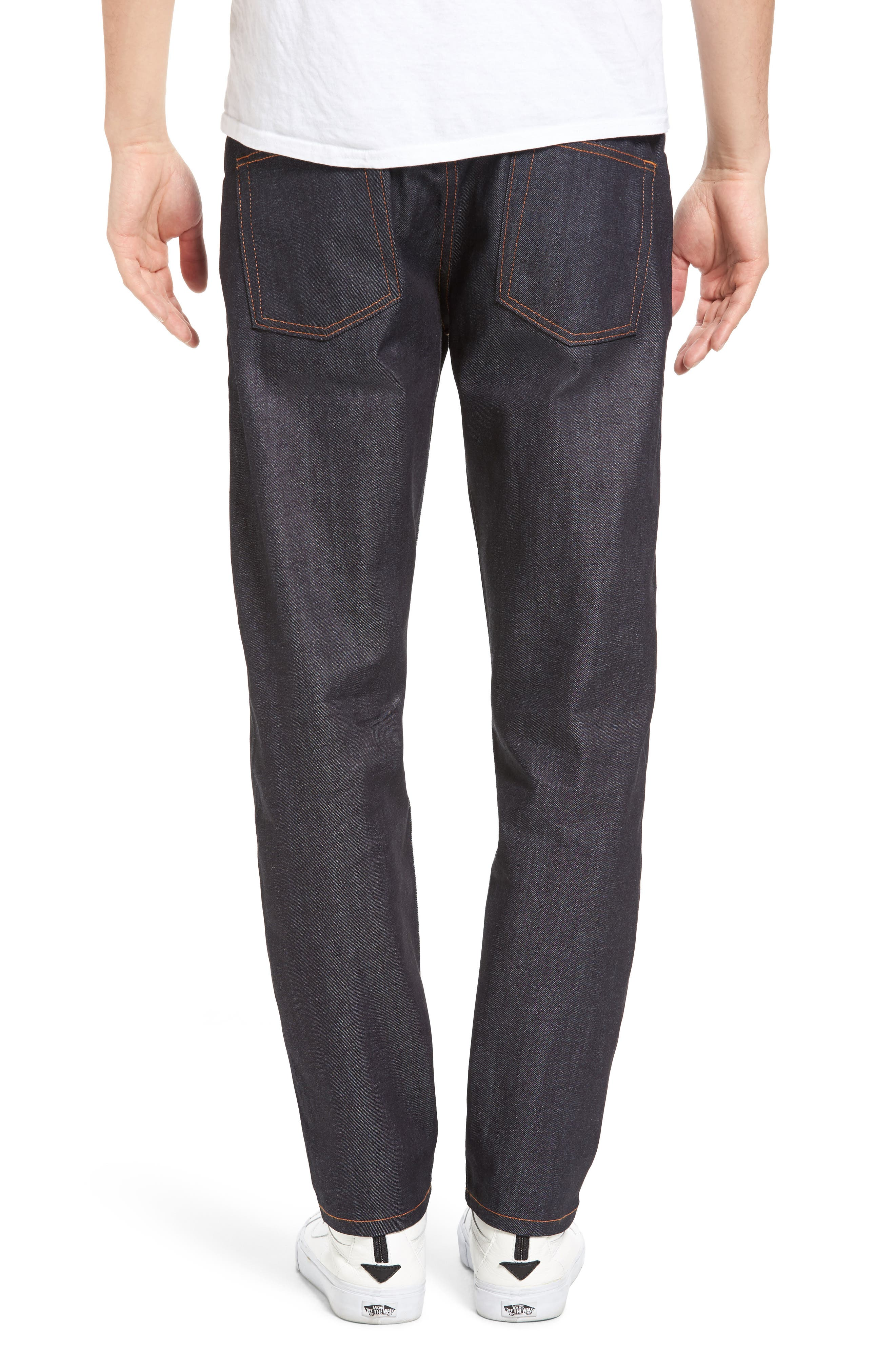 Easy Guy 11 oz. Stretch Selvedge Skinny Fit Jeans,                             Main thumbnail 1, color,                             401