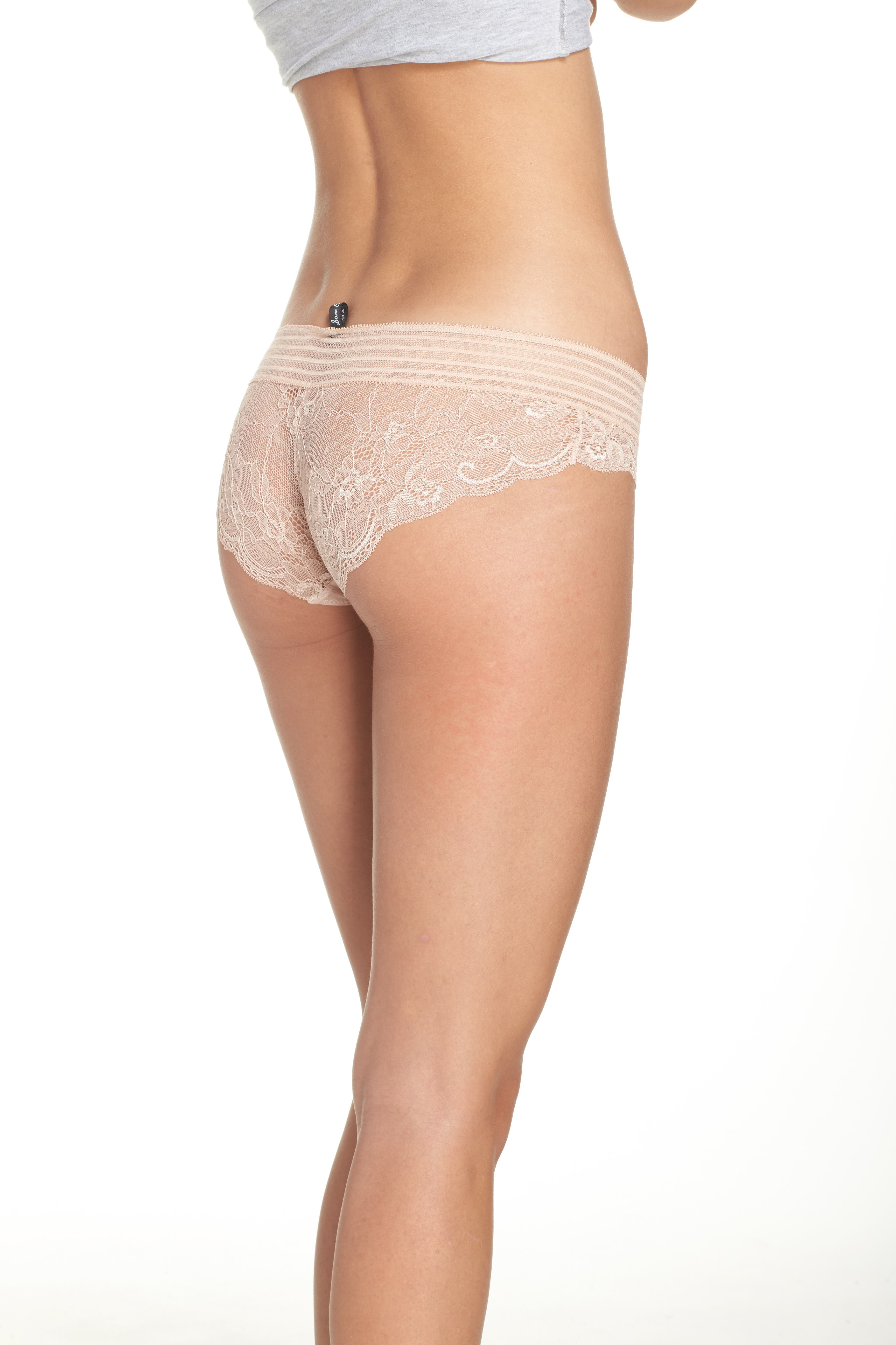 Lace Hipster Panties,                             Alternate thumbnail 8, color,
