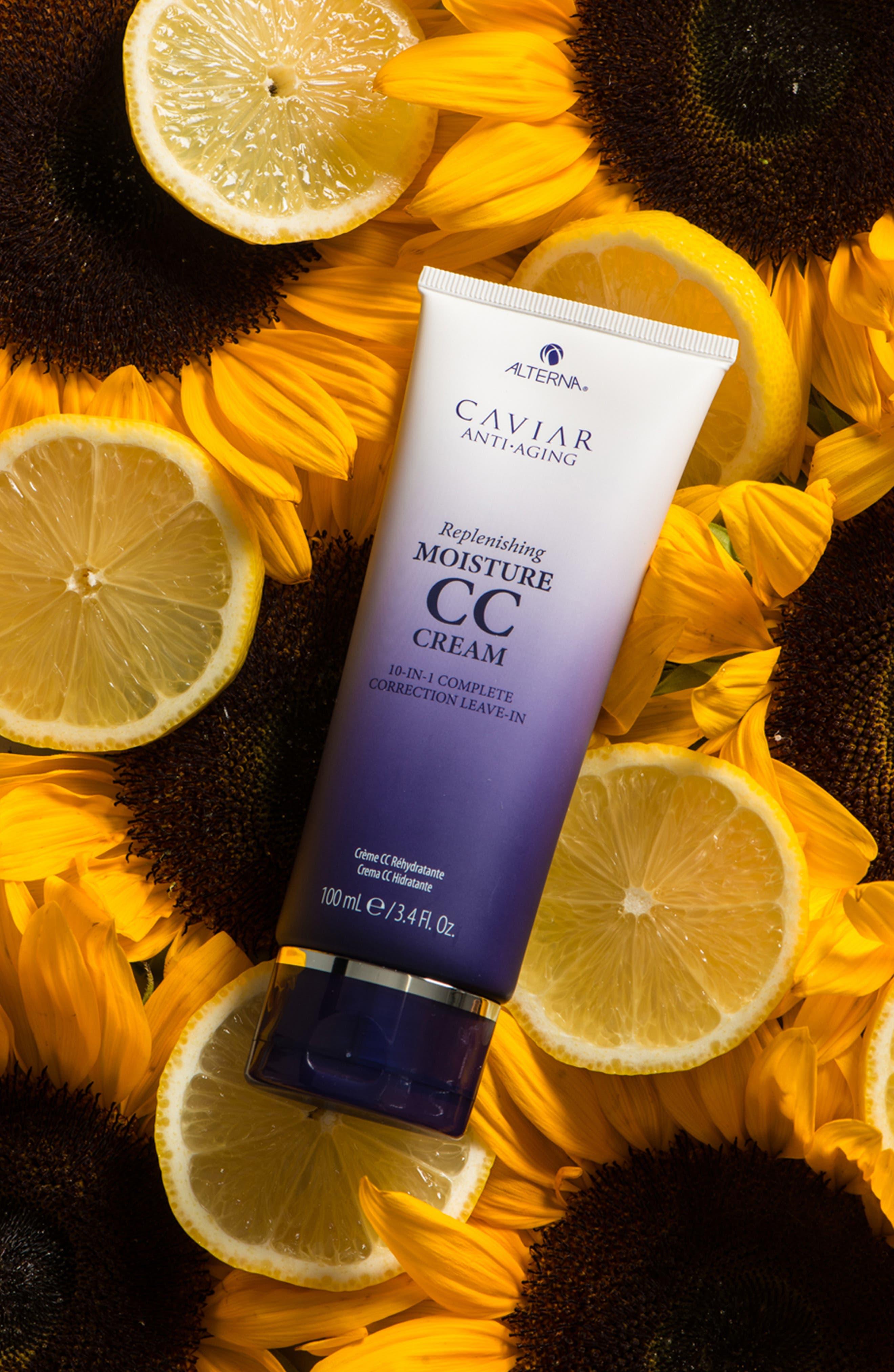 Caviar Anti-Aging Replenishing Moisture CC Cream,                             Alternate thumbnail 4, color,                             NO COLOR