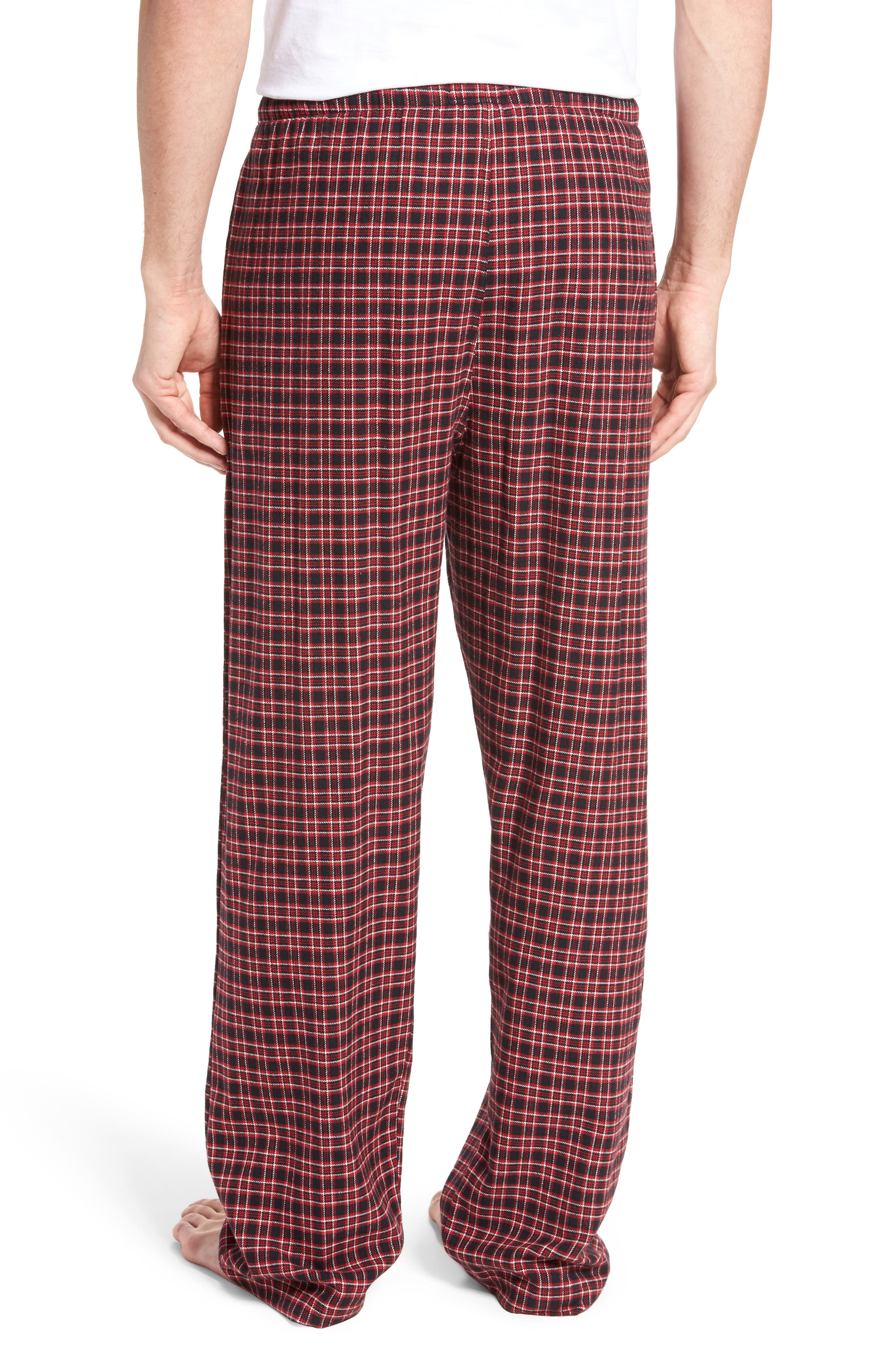 Flannel Pajama Pants,                             Alternate thumbnail 15, color,