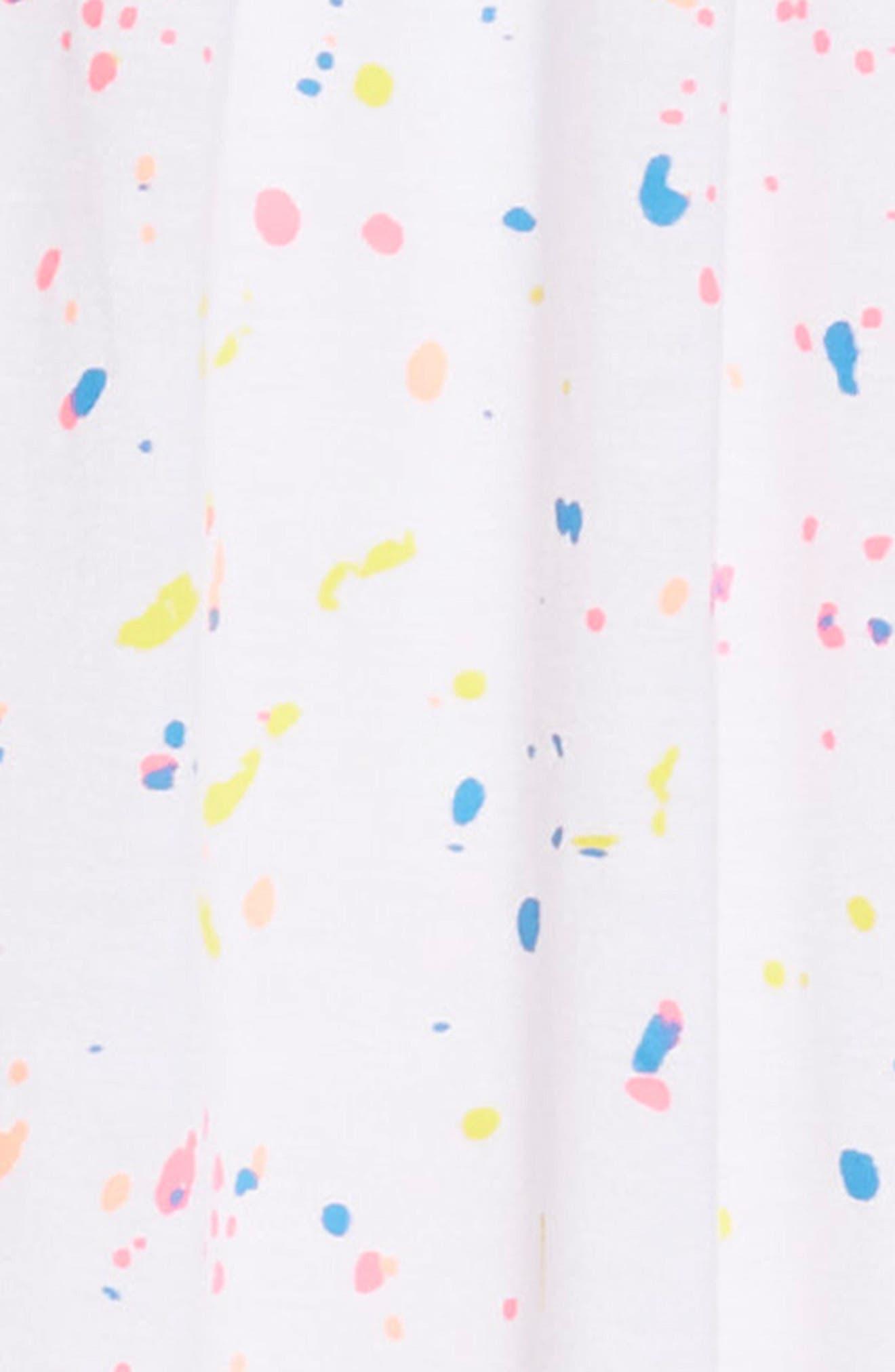 Splatter Dress,                             Alternate thumbnail 3, color,                             100