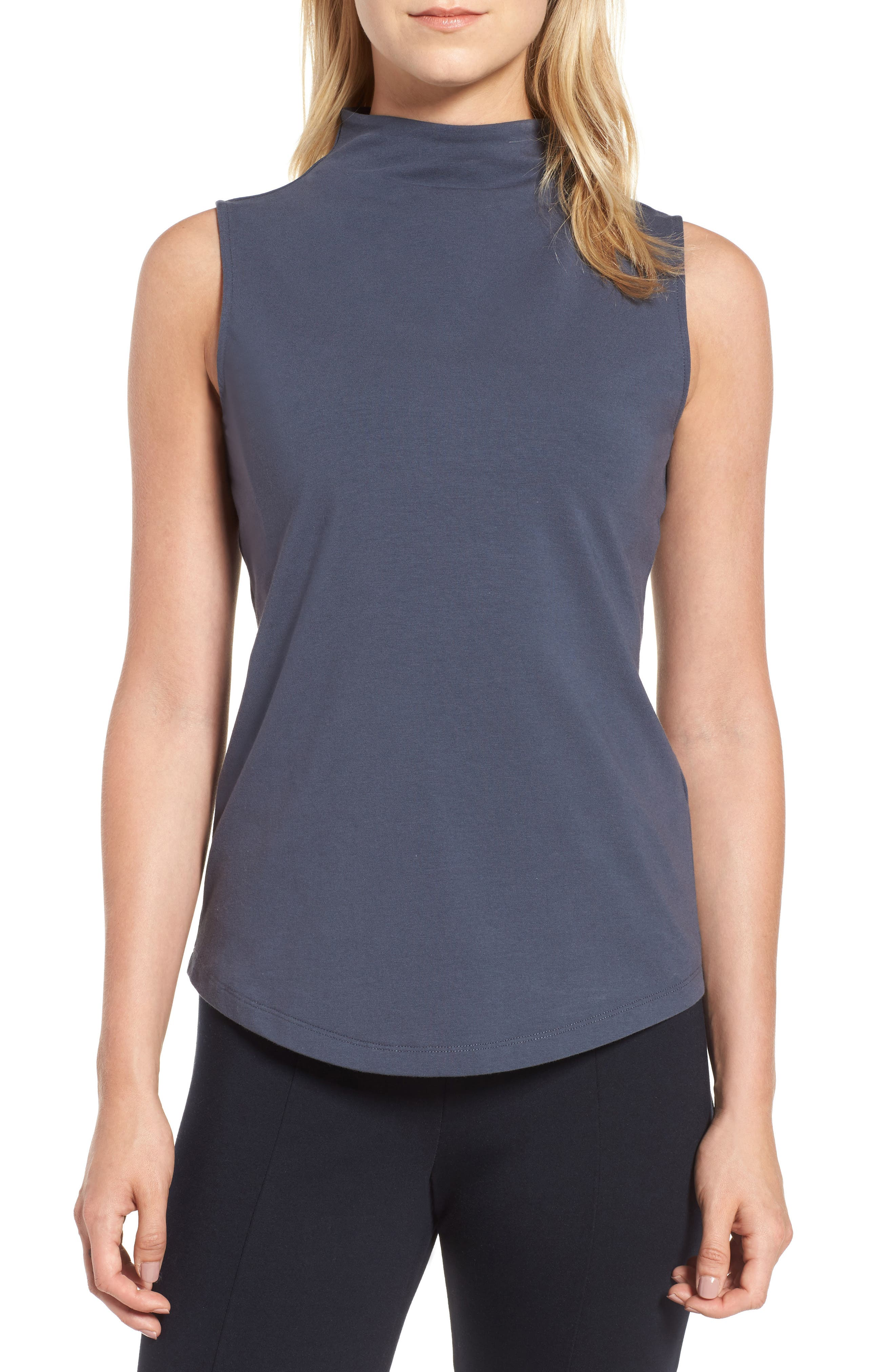 The Perfect Mock Neck Top,                             Main thumbnail 6, color,