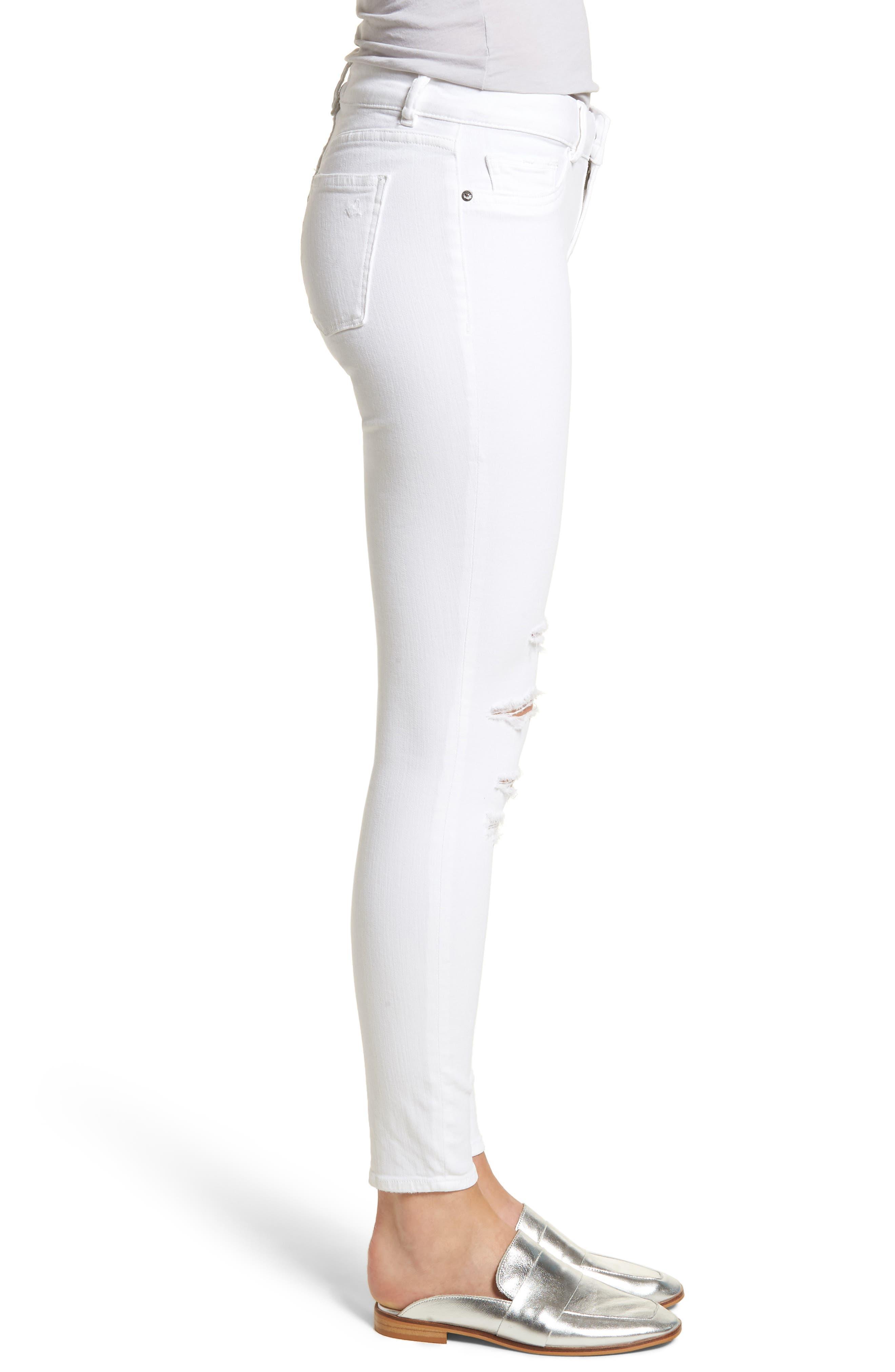 Emma Power Legging Jeans,                             Alternate thumbnail 3, color,                             100