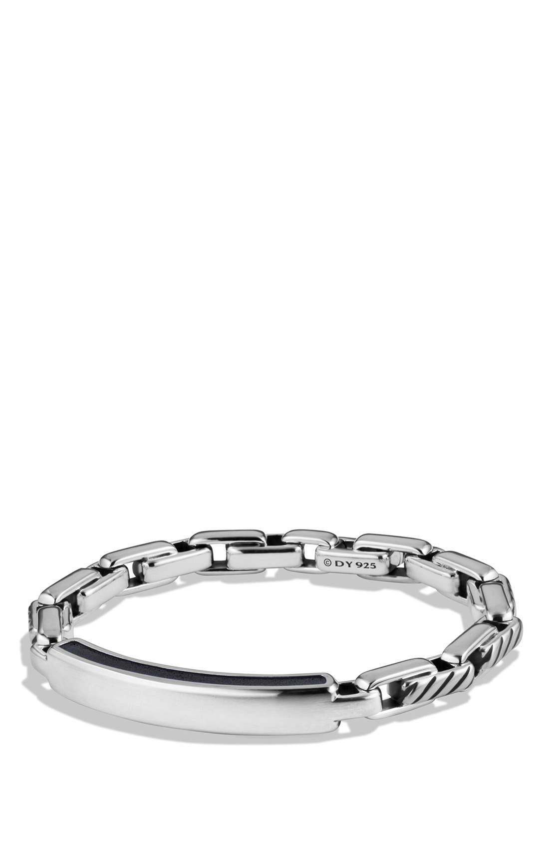 'Modern Cable' ID Bracelet,                             Main thumbnail 1, color,                             040