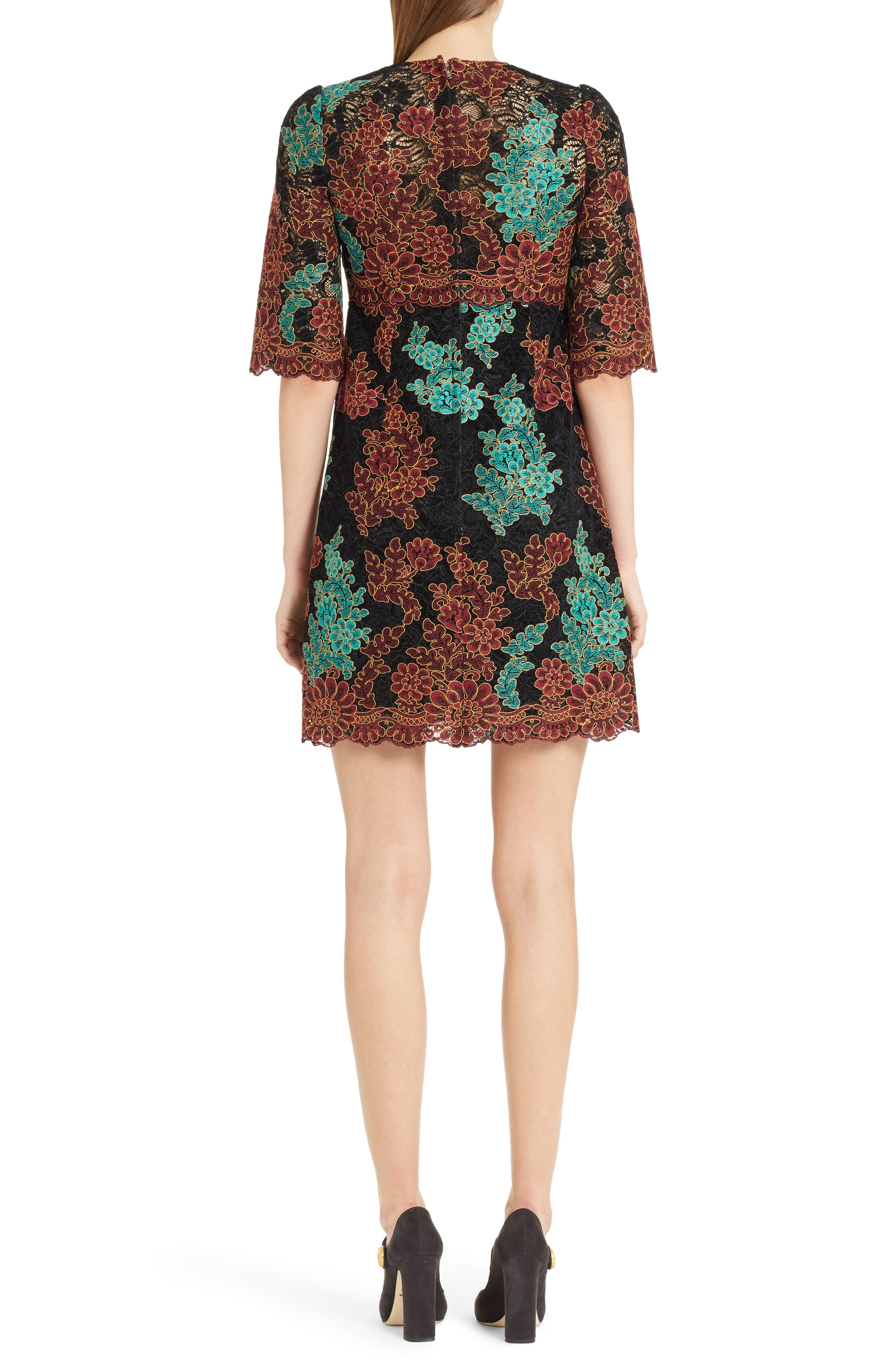 Lace Minidress,                             Alternate thumbnail 2, color,                             930