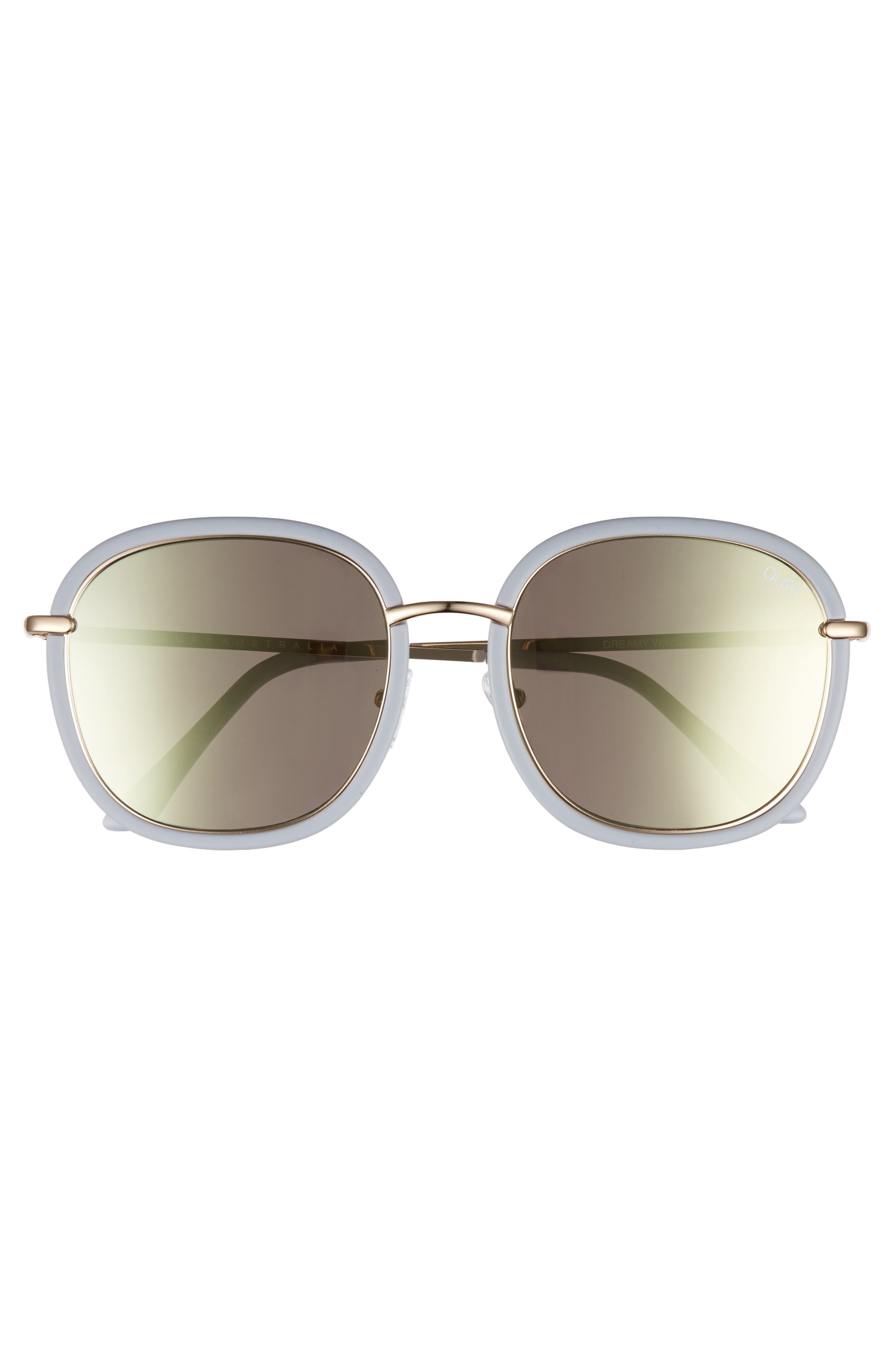 Dreamy Ways 57mm Rectangular Sunglasses,                             Alternate thumbnail 6, color,