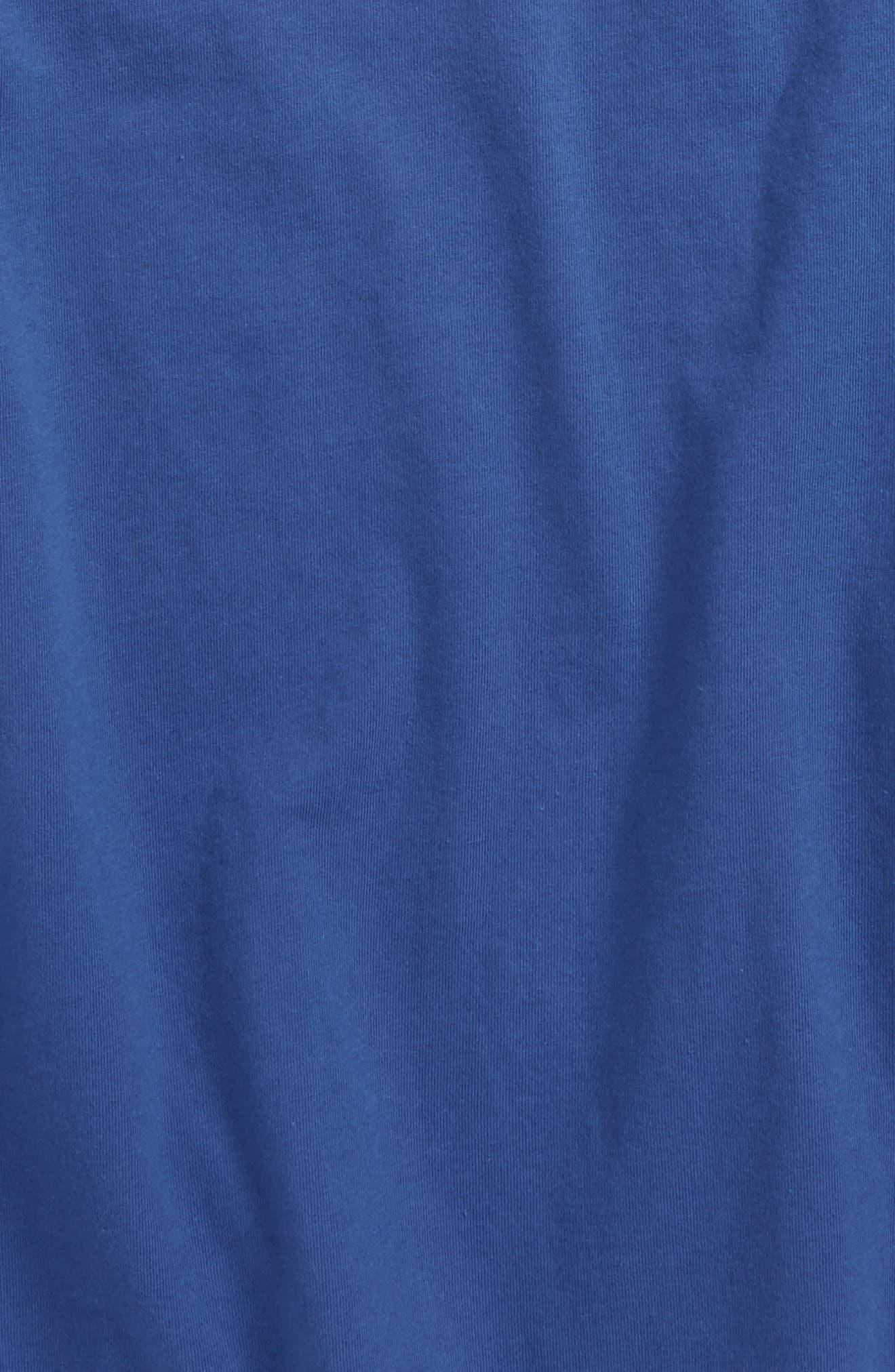 Fish Scales Whale Pocket T-Shirt,                             Alternate thumbnail 3, color,                             461