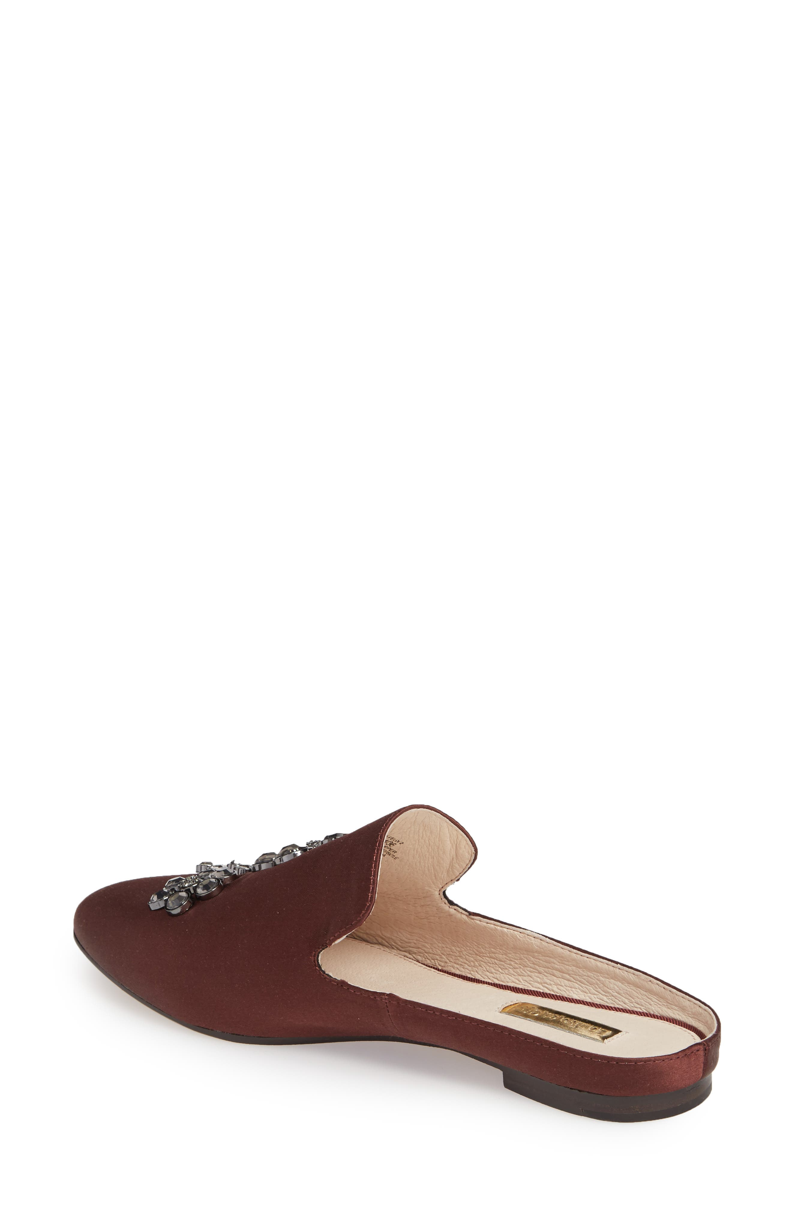Felix II Crystal Flower Loafer Mule,                             Alternate thumbnail 7, color,