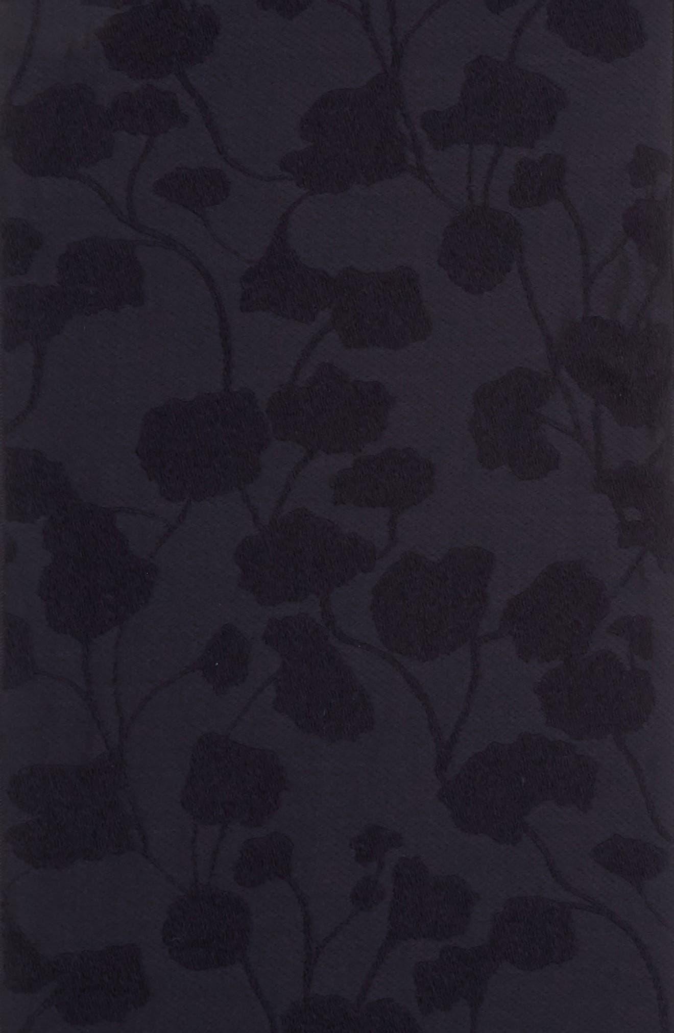 Floral Jacquard Scarf,                             Alternate thumbnail 4, color,                             410