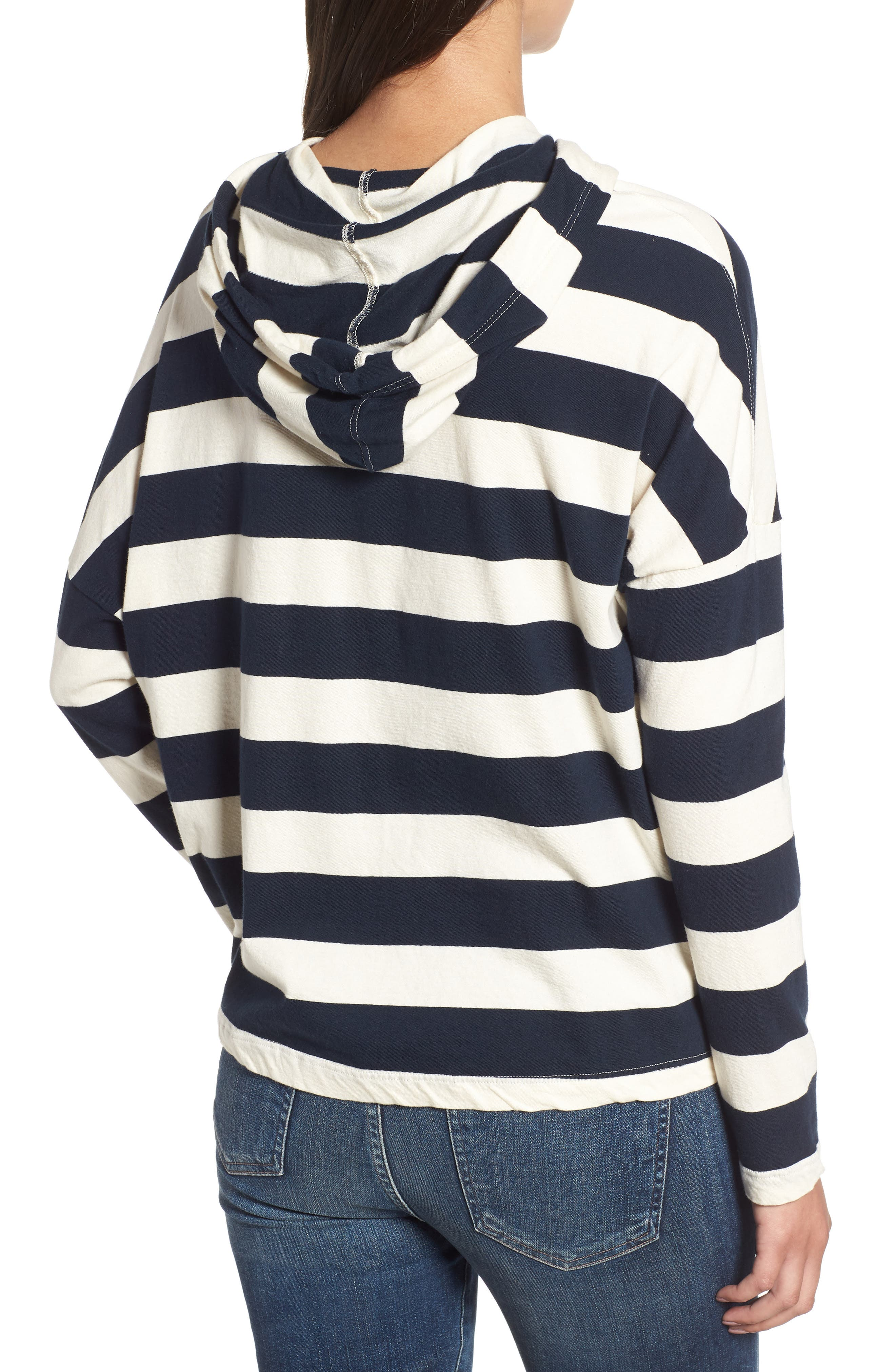 Stripe Hoodie,                             Alternate thumbnail 2, color,                             900