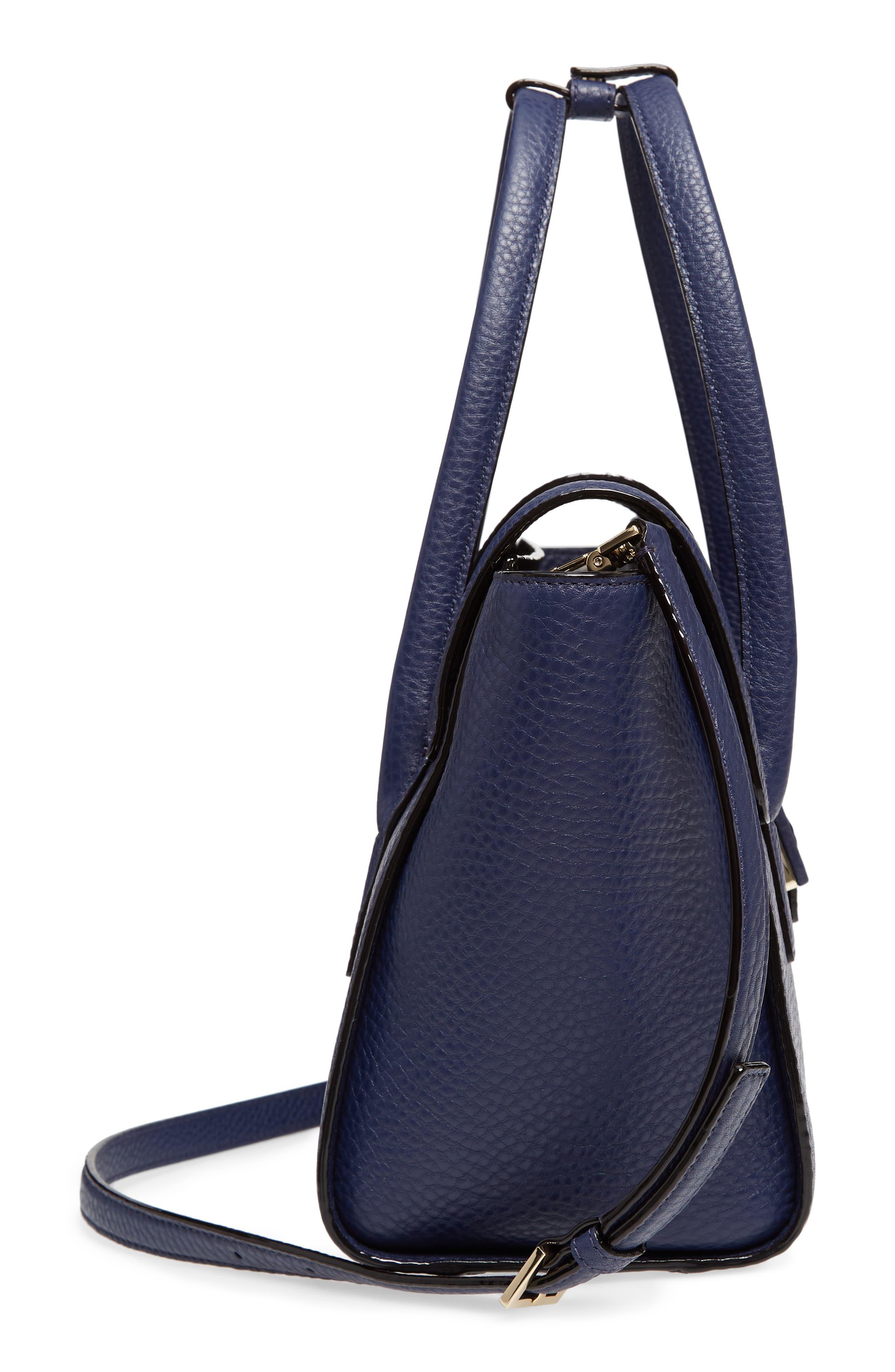 carlyle street - alexa leather satchel,                             Alternate thumbnail 10, color,