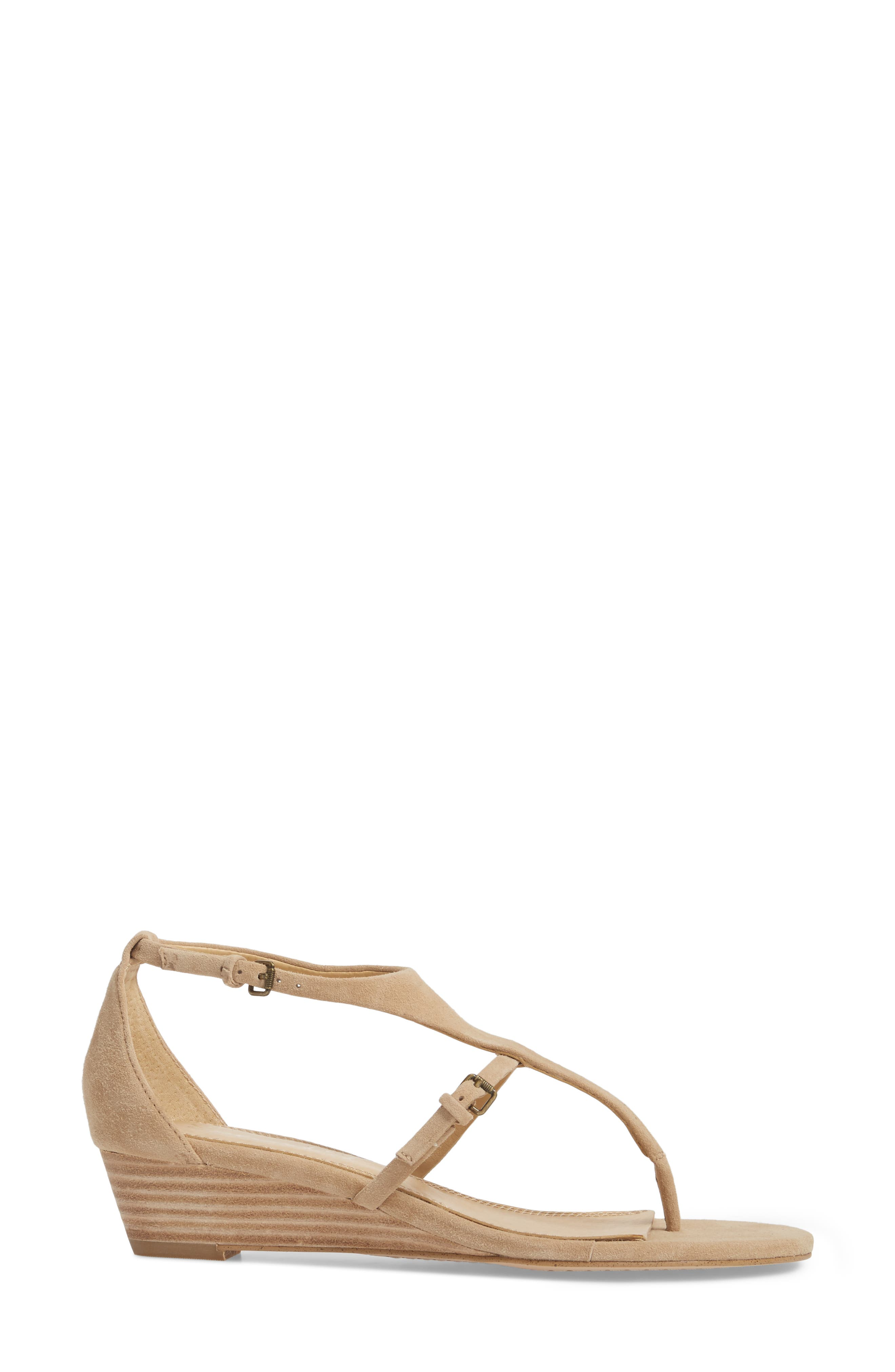 Brooklyn V-Strap Wedge Sandal,                             Alternate thumbnail 10, color,