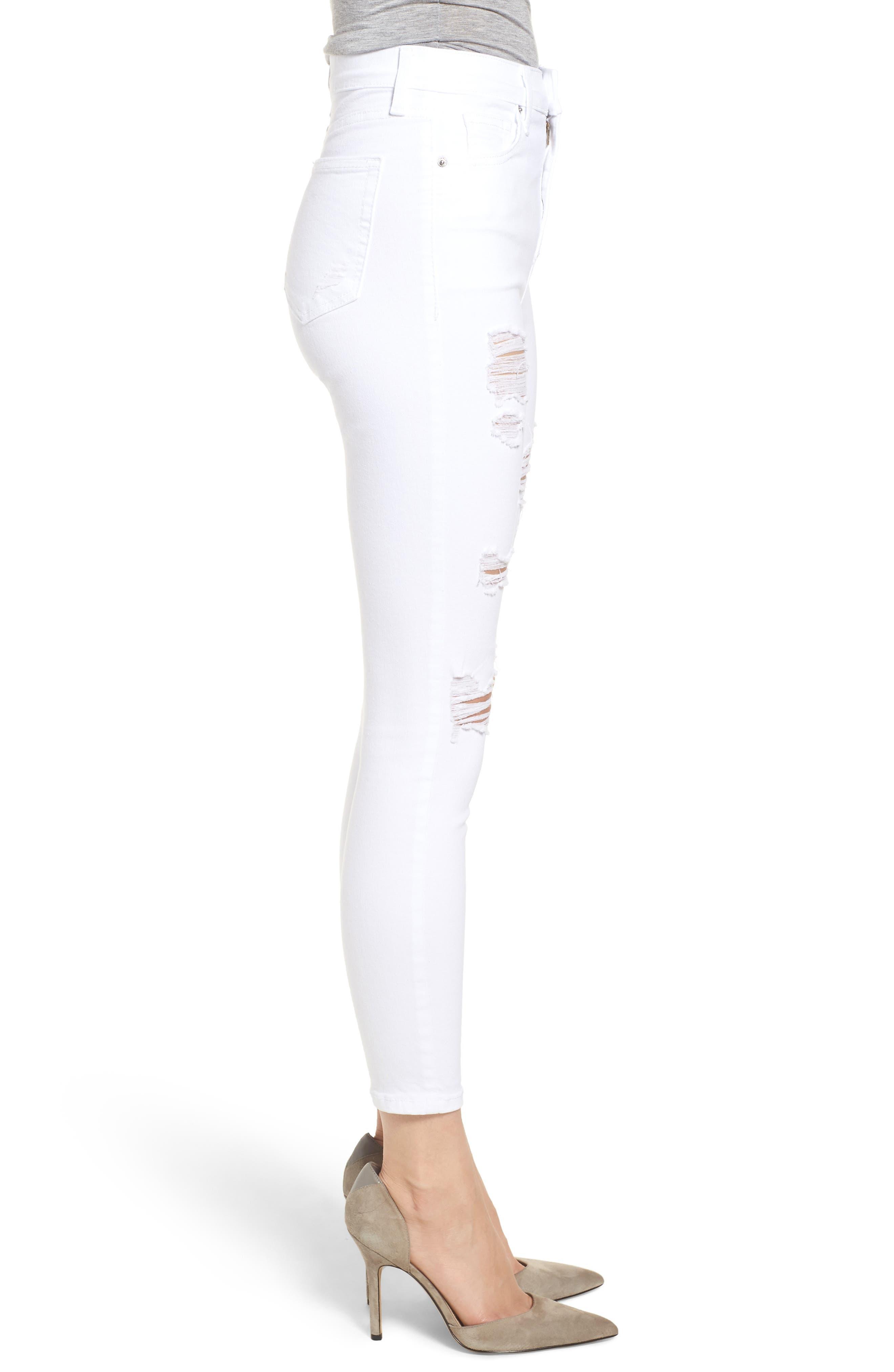 Jamie Super Rip Jeans,                             Alternate thumbnail 3, color,                             100