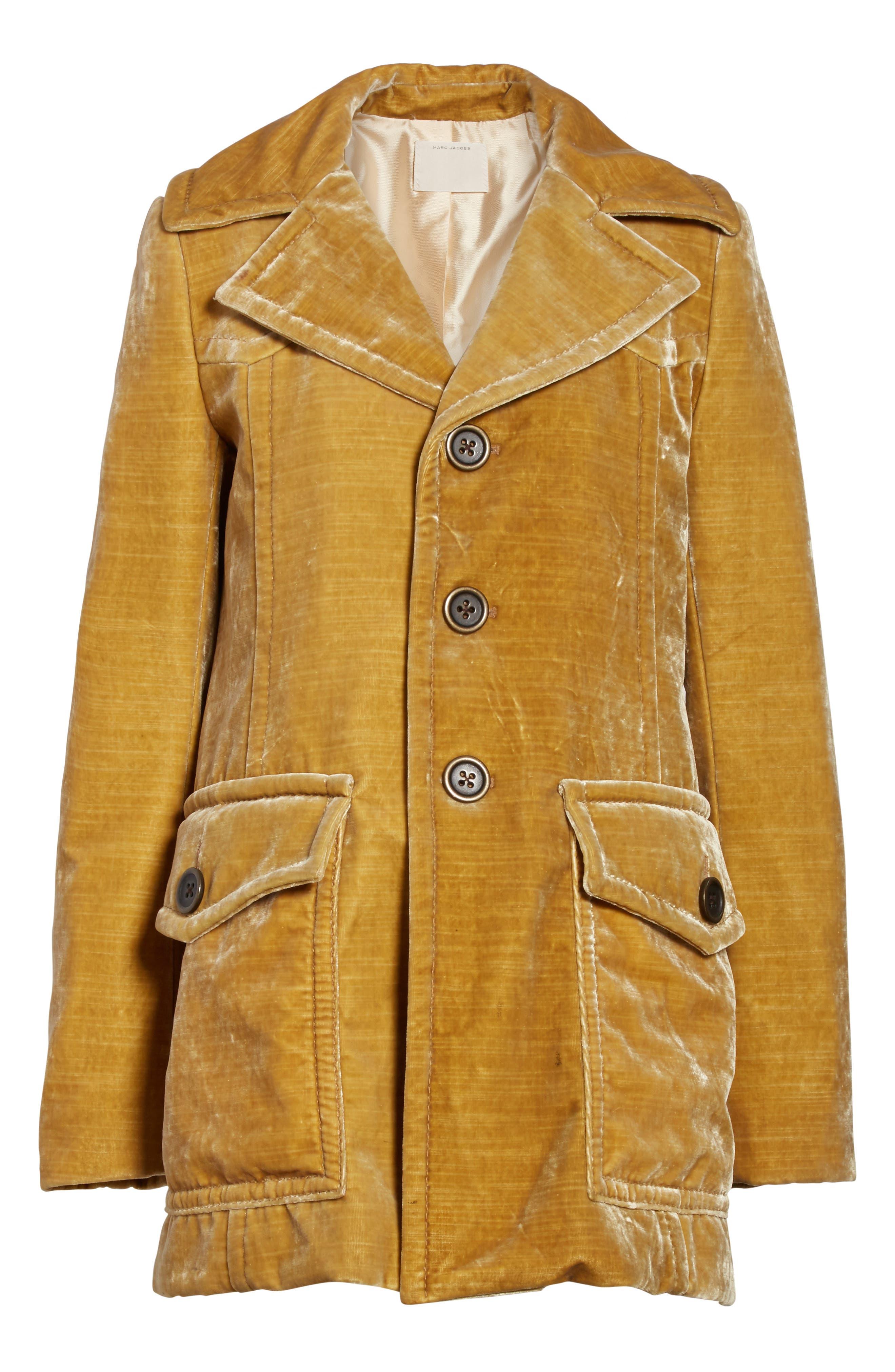 Velvet Coat,                             Alternate thumbnail 5, color,                             703