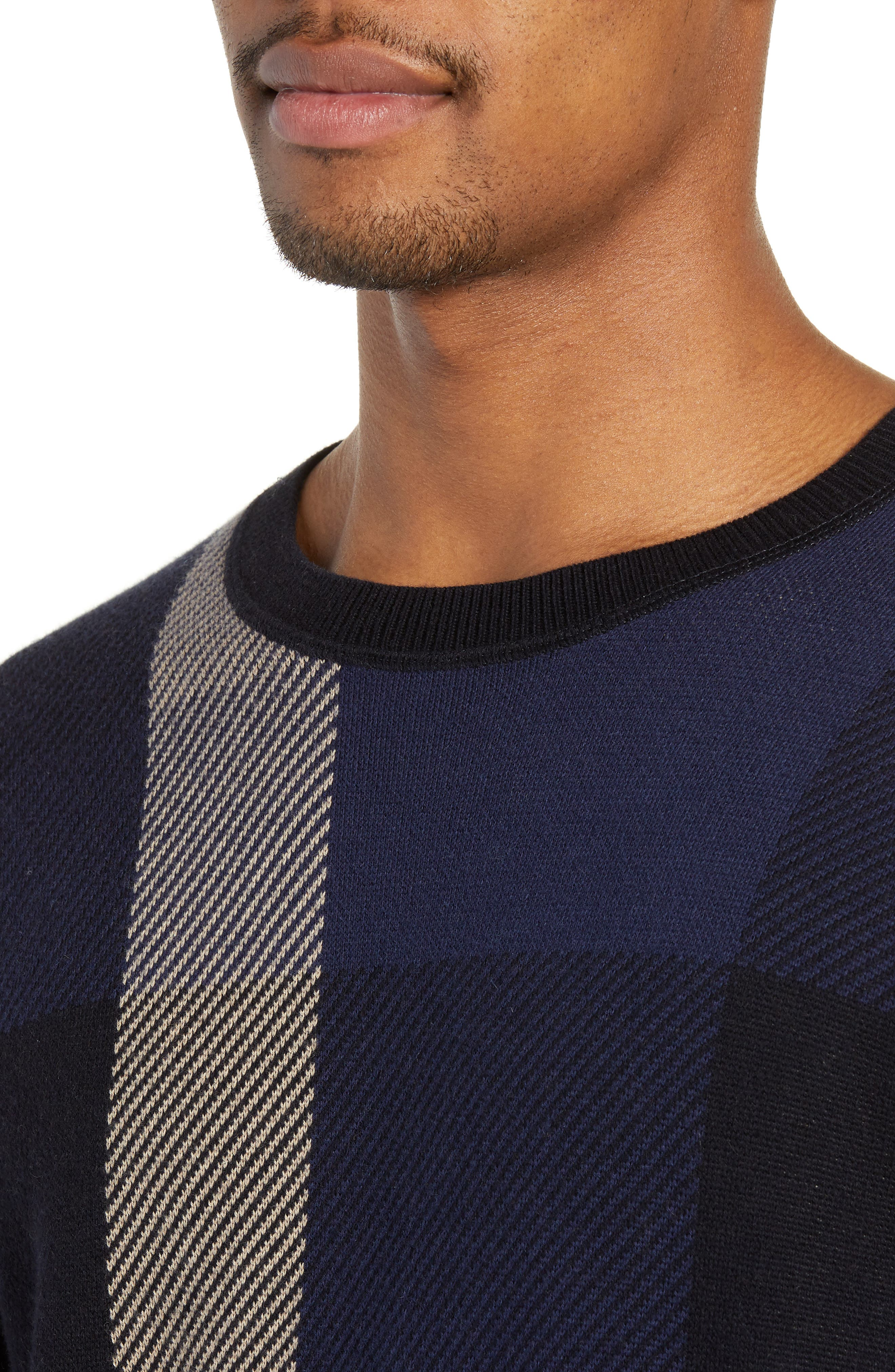 Marshall Crewneck Sweater,                             Alternate thumbnail 4, color,                             NAVY