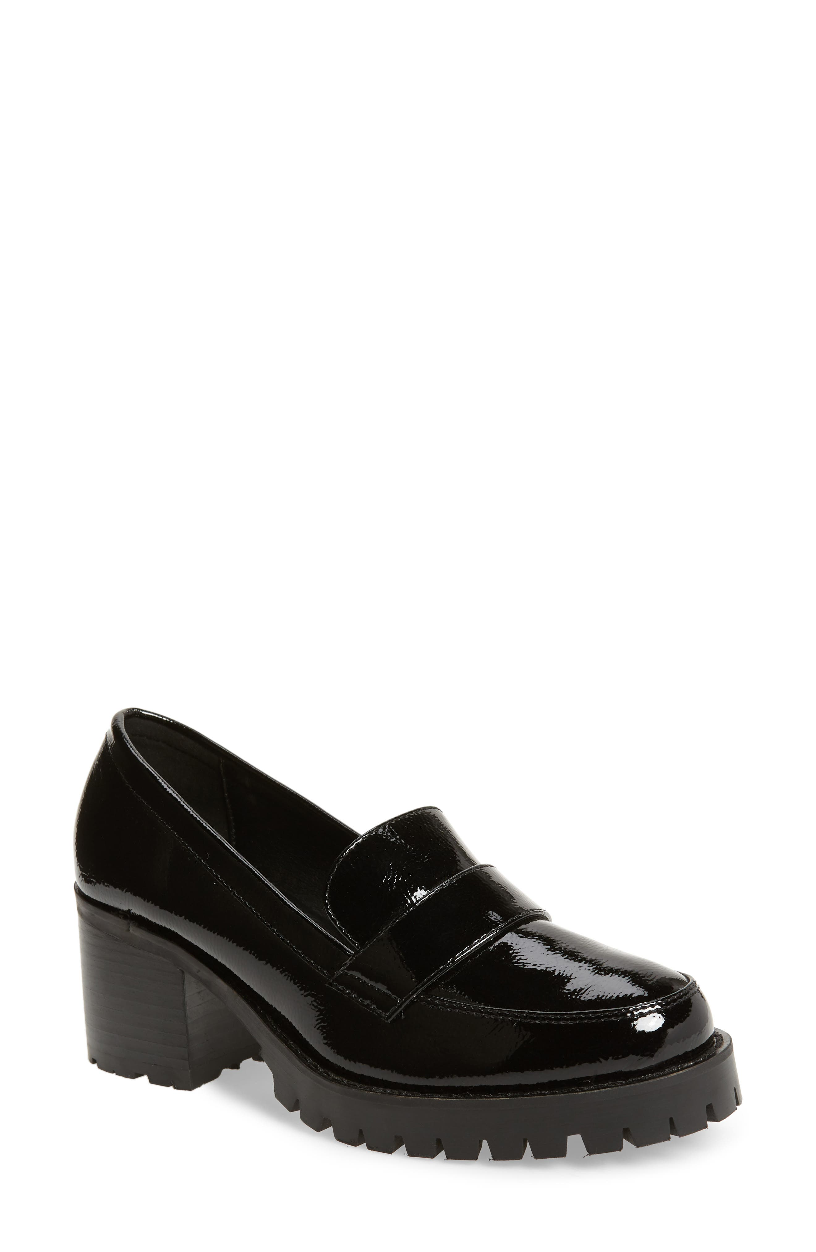 Leighton Platform Loafer,                             Main thumbnail 1, color,                             001