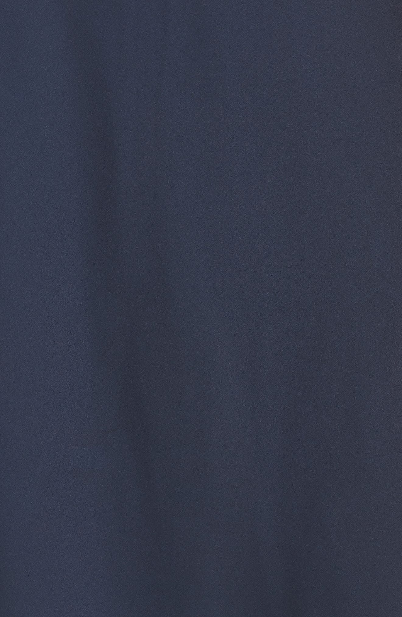 x Atlantic-Pacific Lace Trim Half Slip,                             Alternate thumbnail 5, color,                             NAVY BLAZER