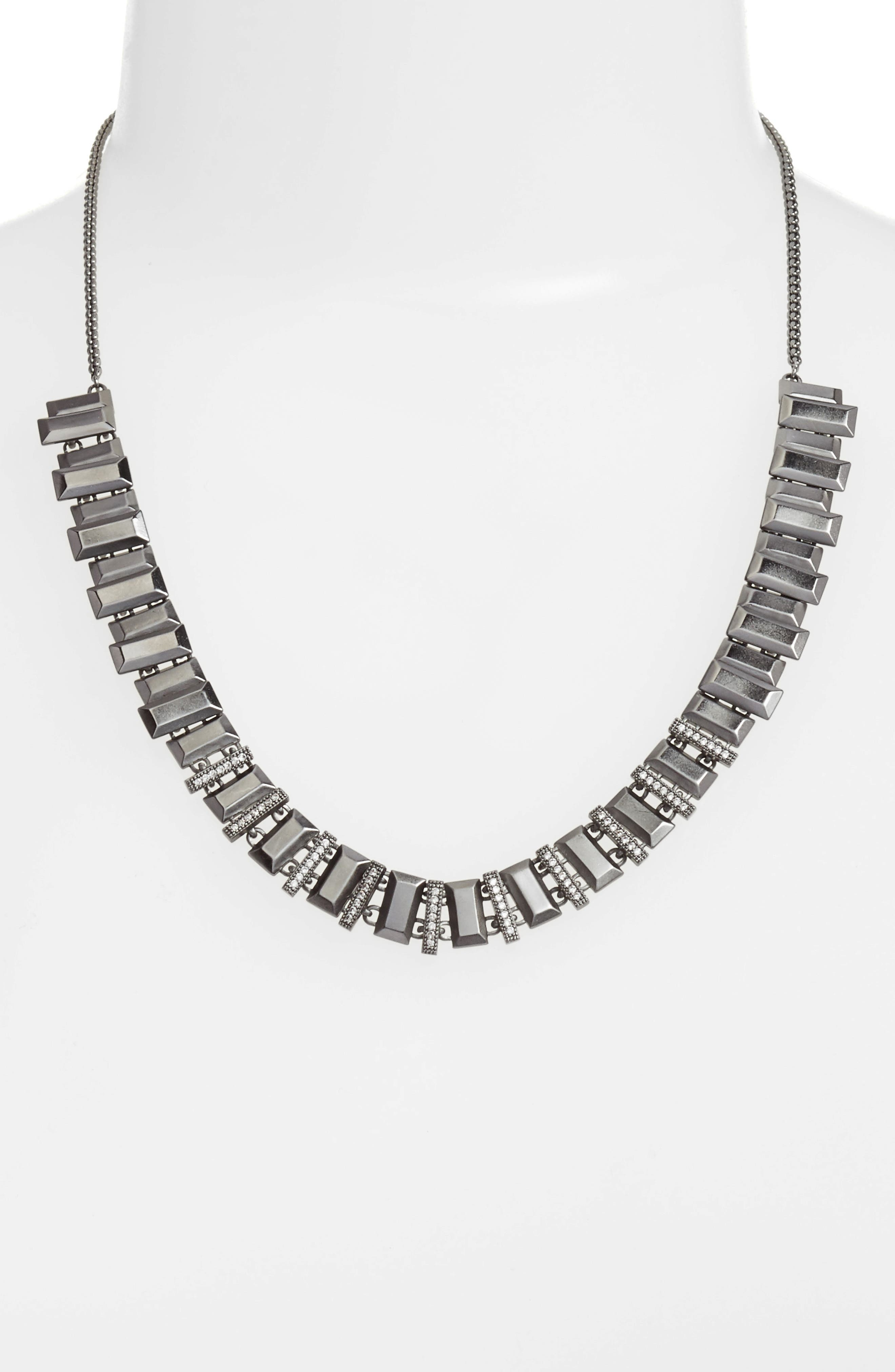 Harper Collar Necklace,                             Main thumbnail 1, color,                             001